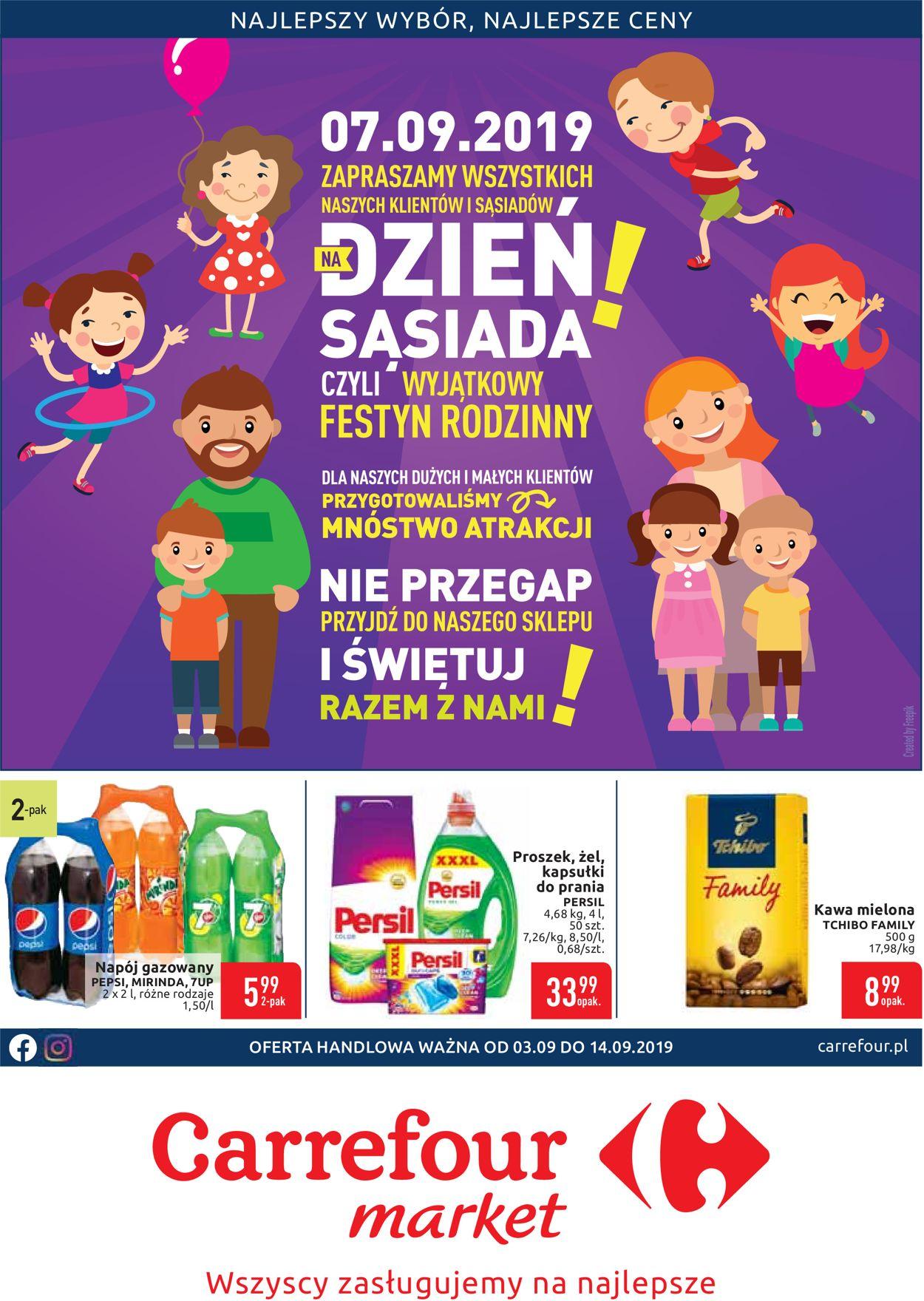 Gazetka promocyjna Carrefour - 03.09-14.09.2019