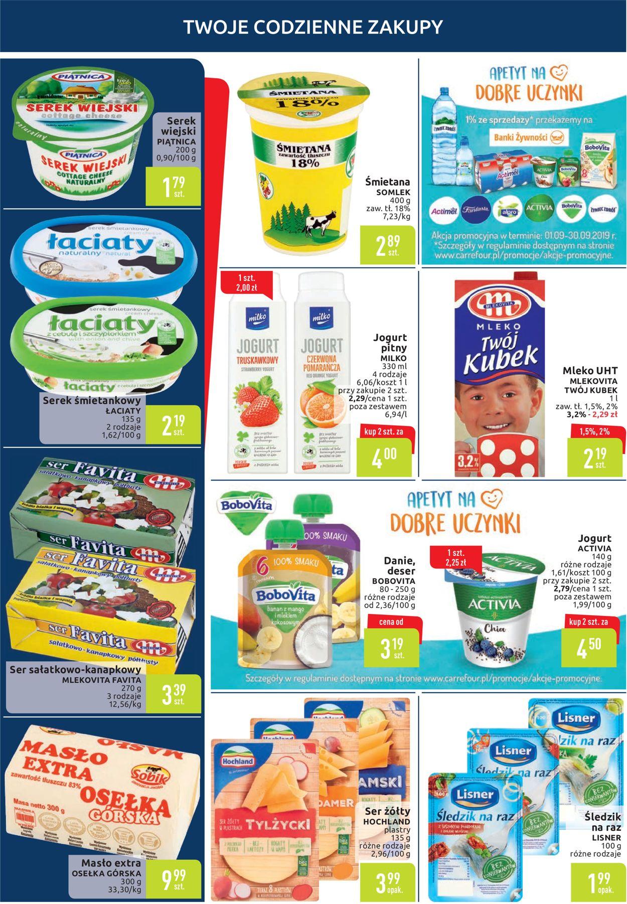 Gazetka promocyjna Carrefour - 10.09-16.09.2019 (Strona 2)
