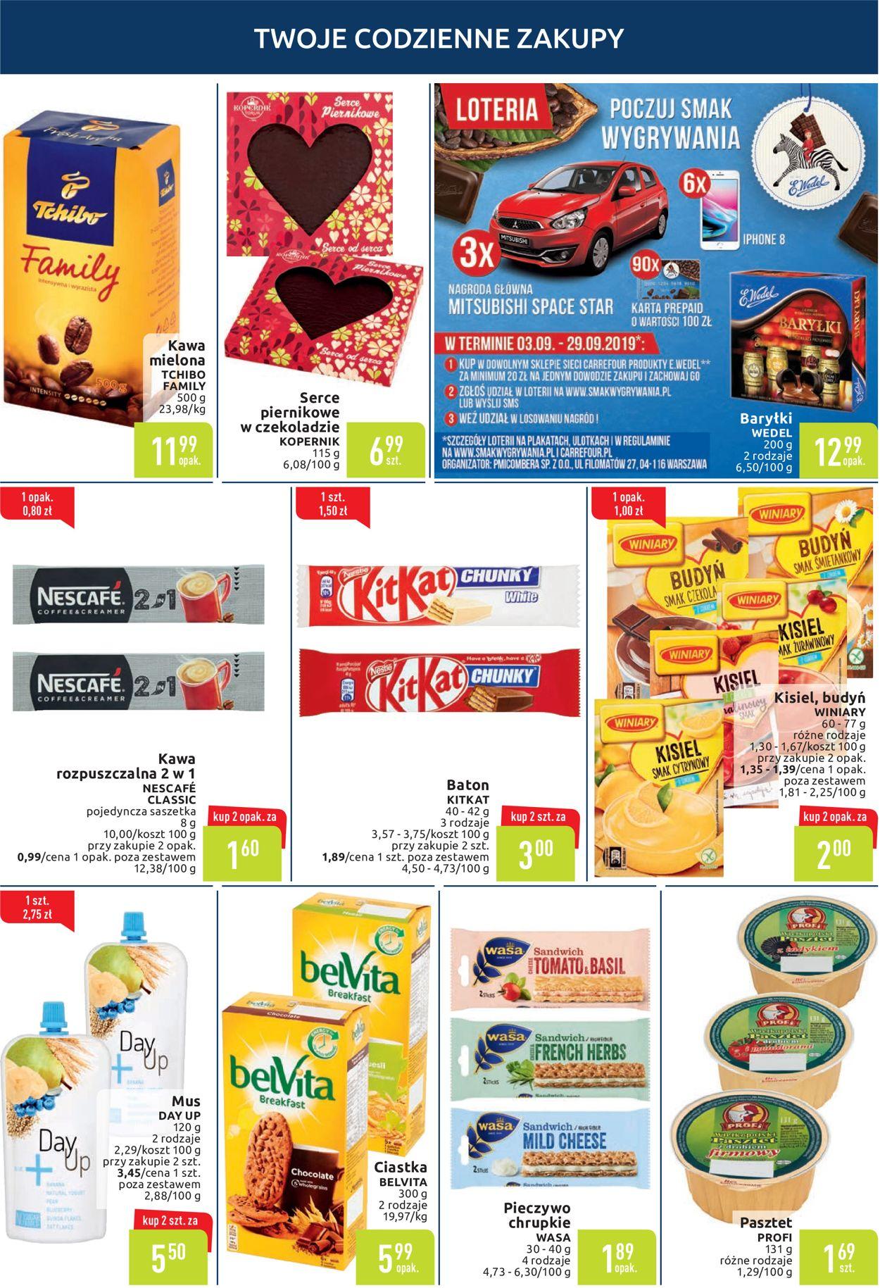 Gazetka promocyjna Carrefour - 10.09-16.09.2019 (Strona 4)