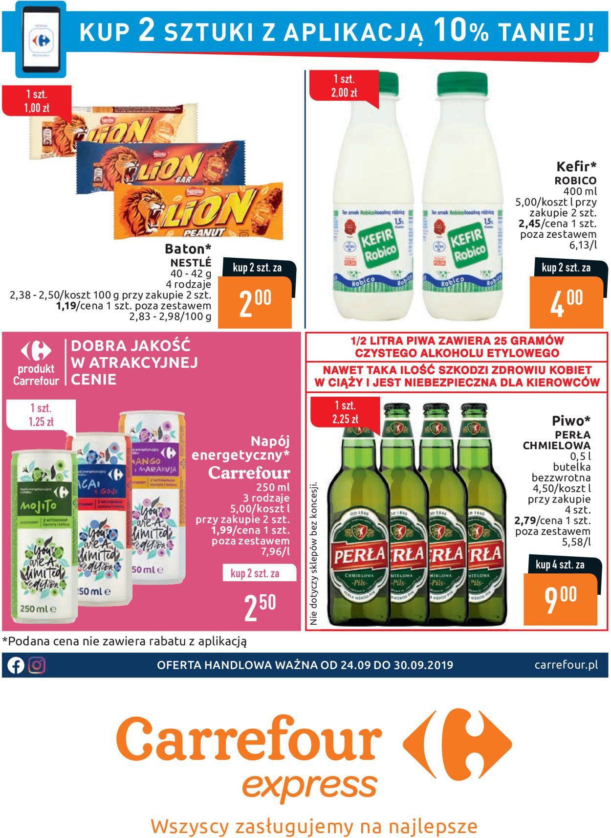 Gazetka promocyjna Carrefour - 24.09-30.09.2019