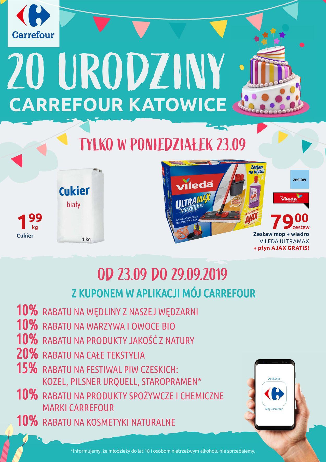 Gazetka promocyjna Carrefour - 23.09-29.09.2019