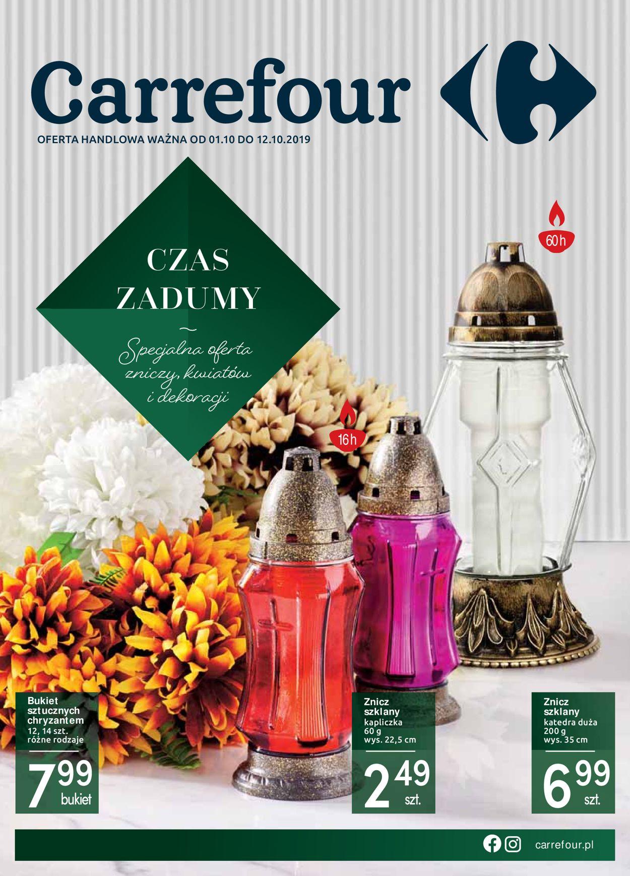 Gazetka promocyjna Carrefour - 01.10-12.10.2019