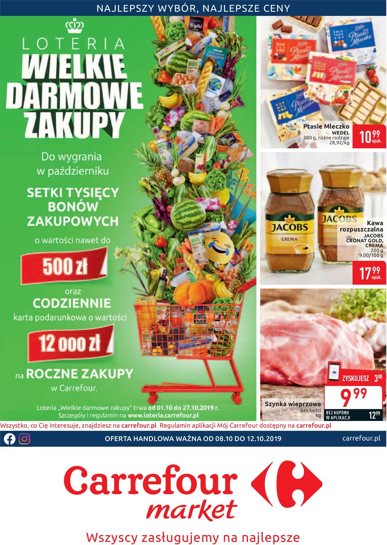 Gazetka promocyjna Carrefour - 08.10-12.10.2019