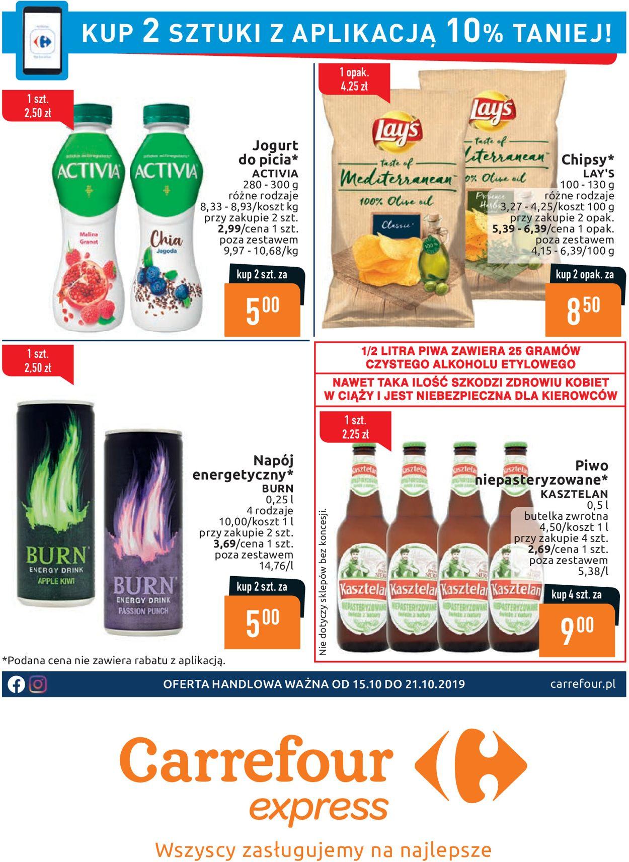 Gazetka promocyjna Carrefour - 15.10-21.10.2019