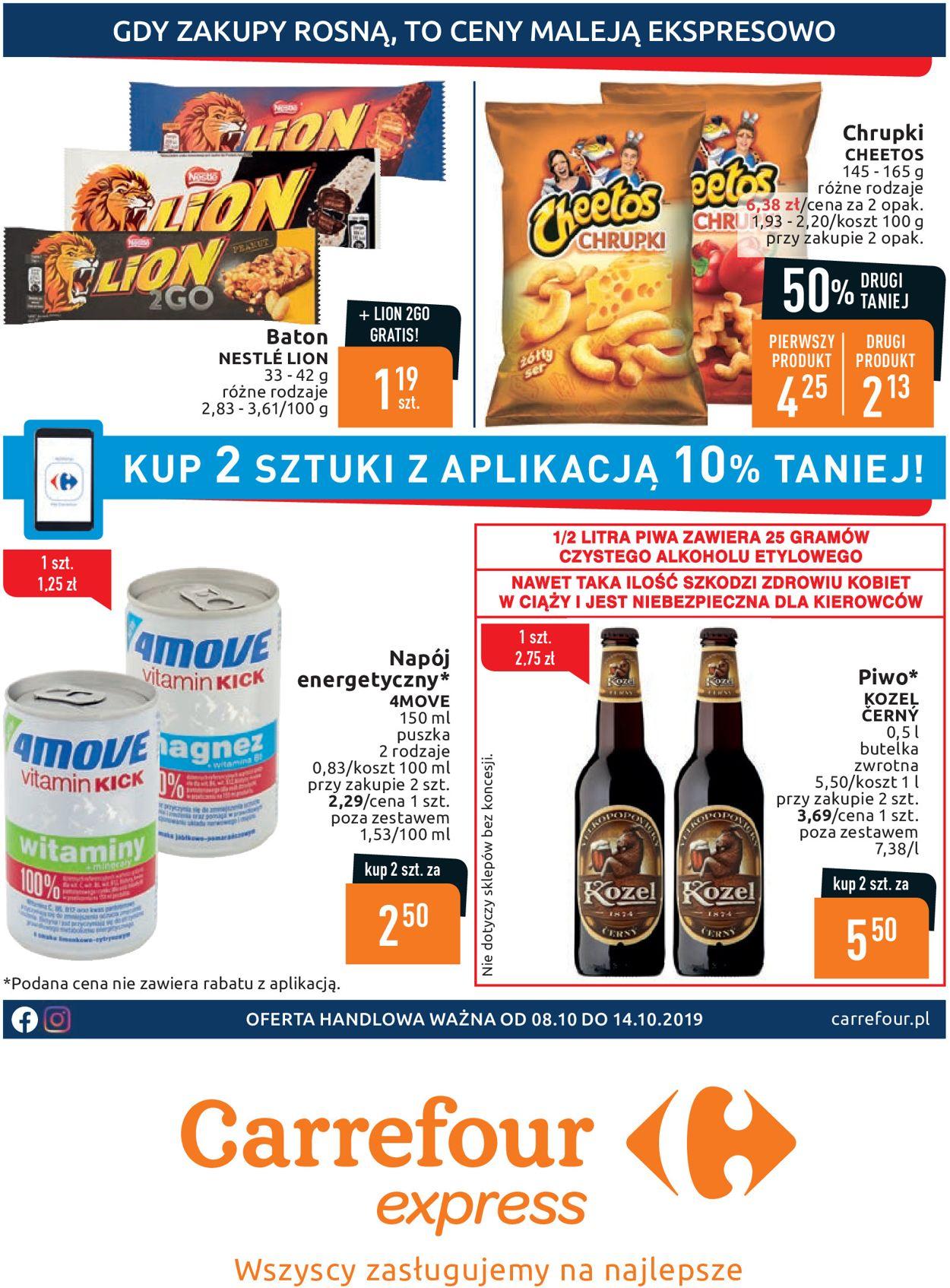 Gazetka promocyjna Carrefour - 08.10-14.10.2019