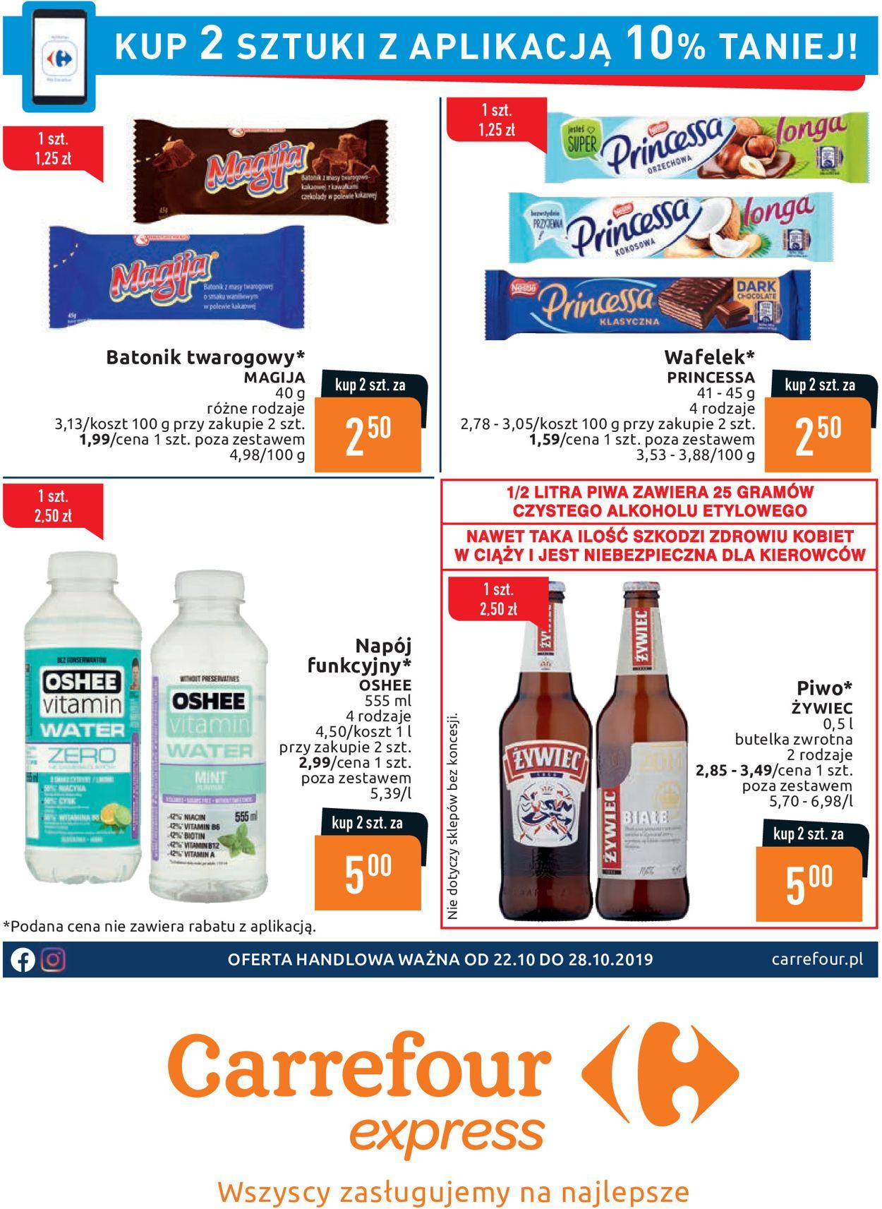 Gazetka promocyjna Carrefour - 22.10-28.10.2019