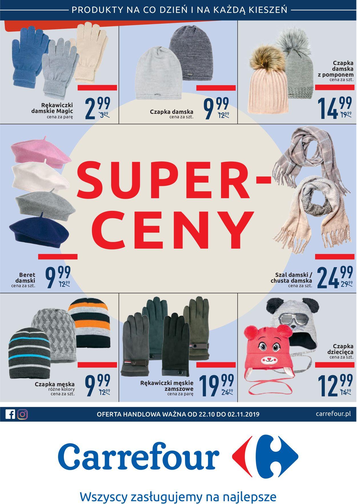 Gazetka promocyjna Carrefour - 22.10-02.11.2019