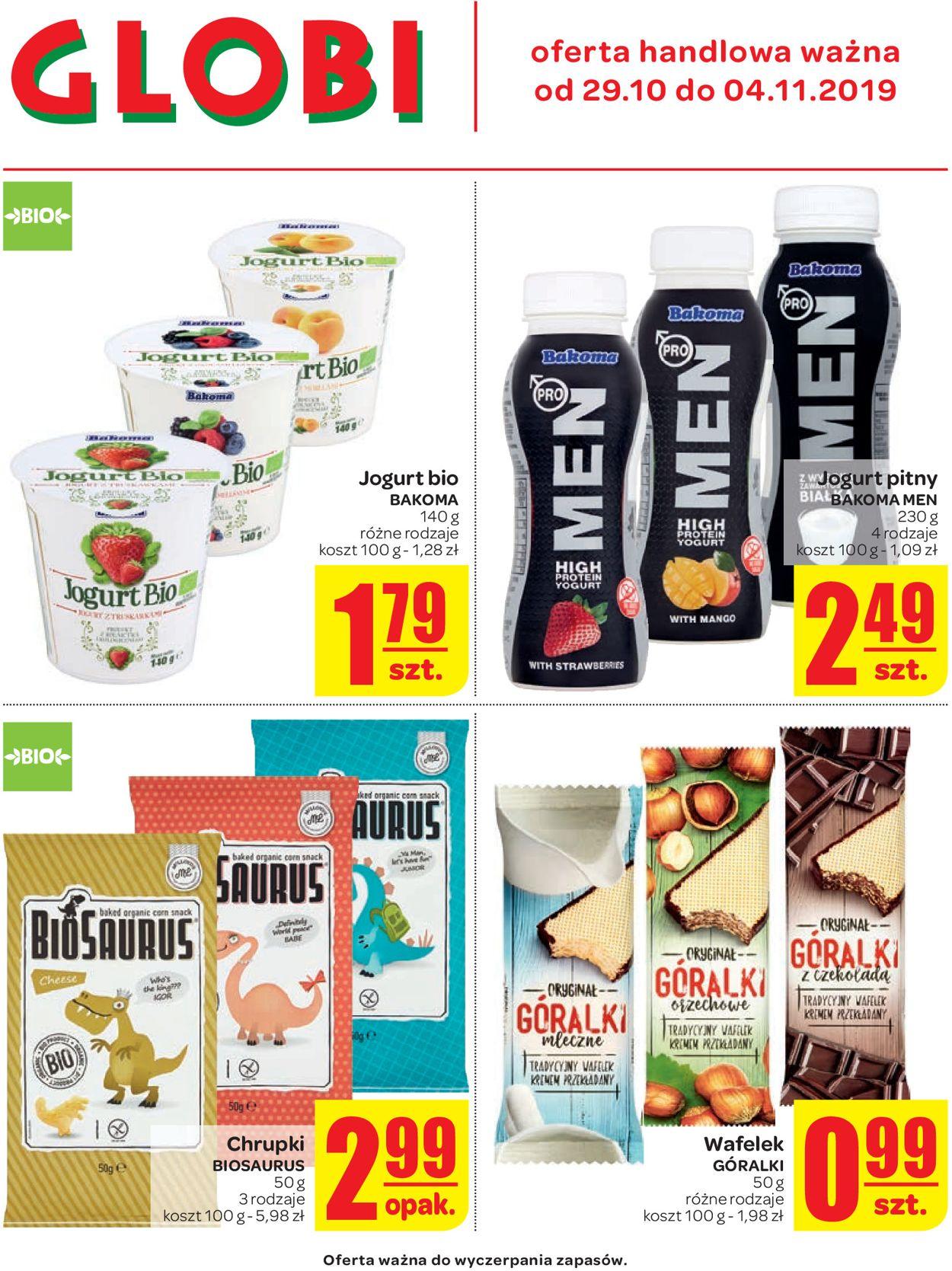 Gazetka promocyjna Carrefour - 29.10-04.11.2019