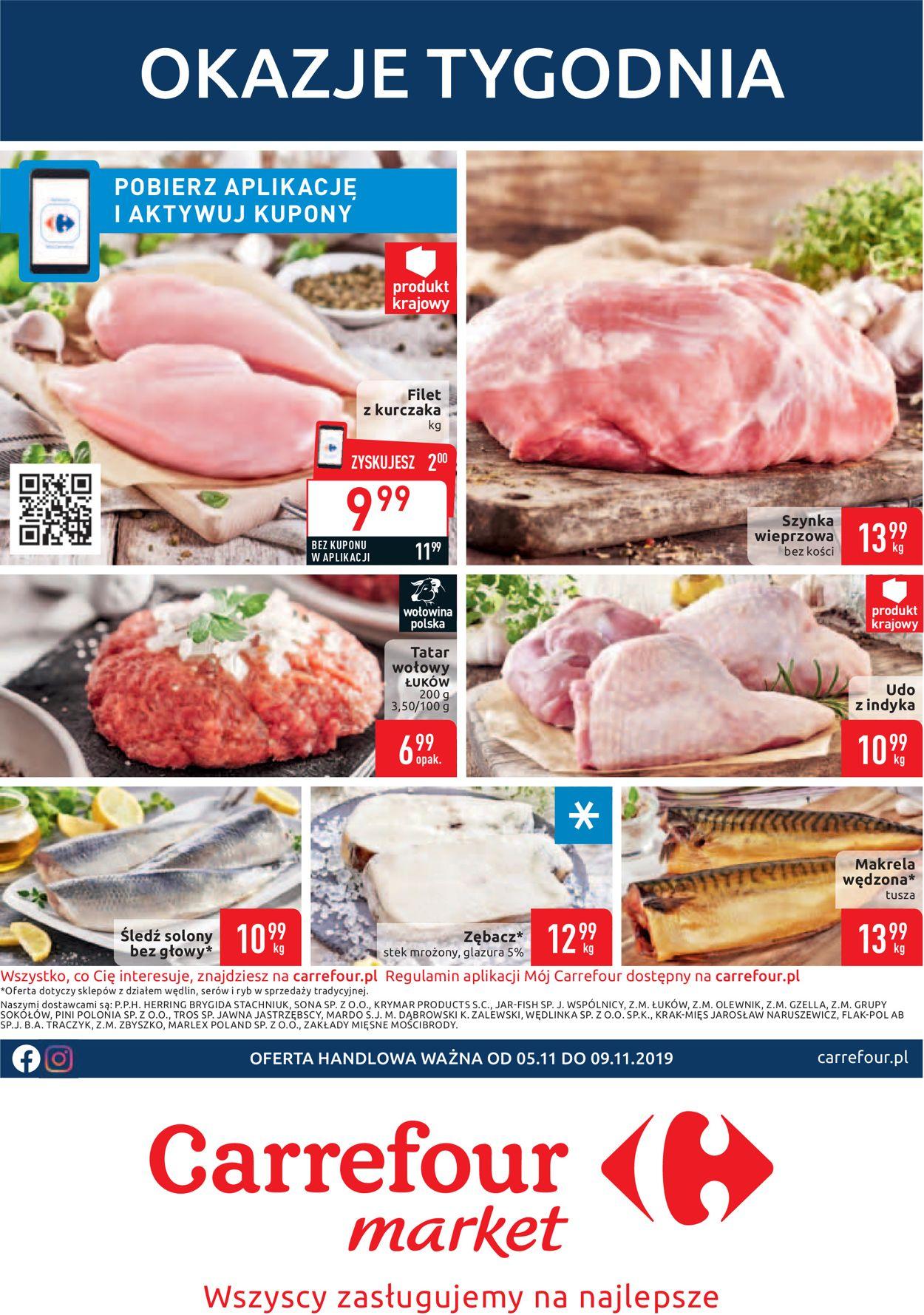 Gazetka promocyjna Carrefour - 05.11-09.11.2019