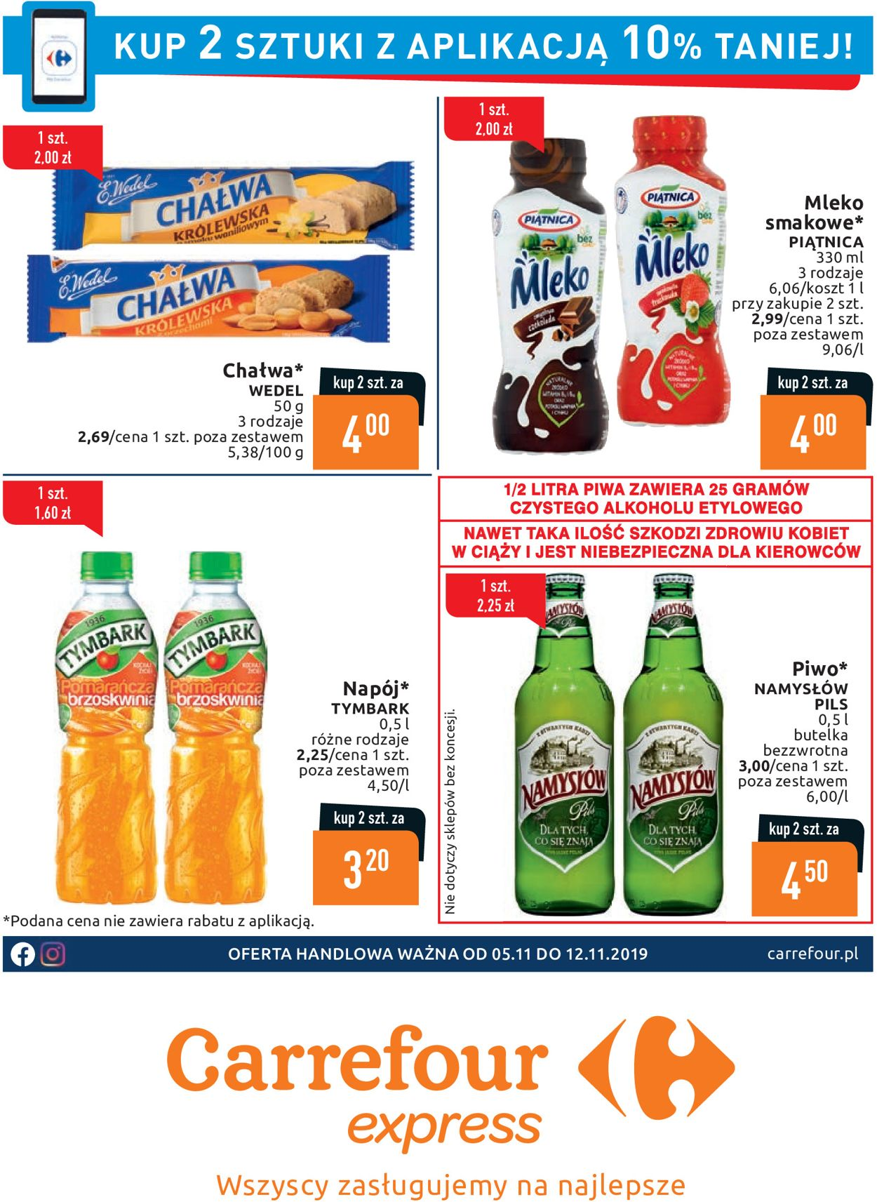 Gazetka promocyjna Carrefour - 05.11-12.11.2019