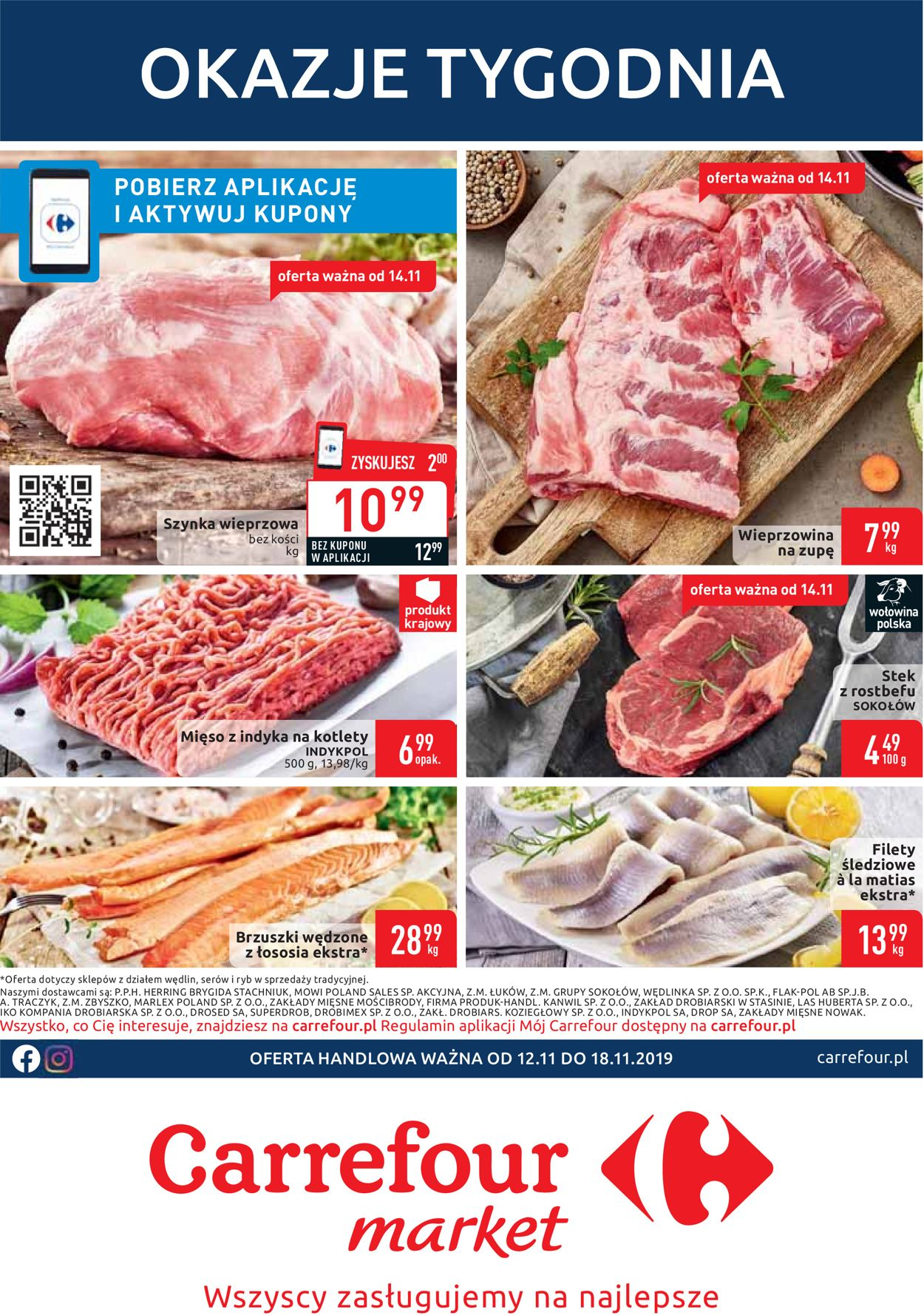 Gazetka promocyjna Carrefour - 12.11-18.11.2019