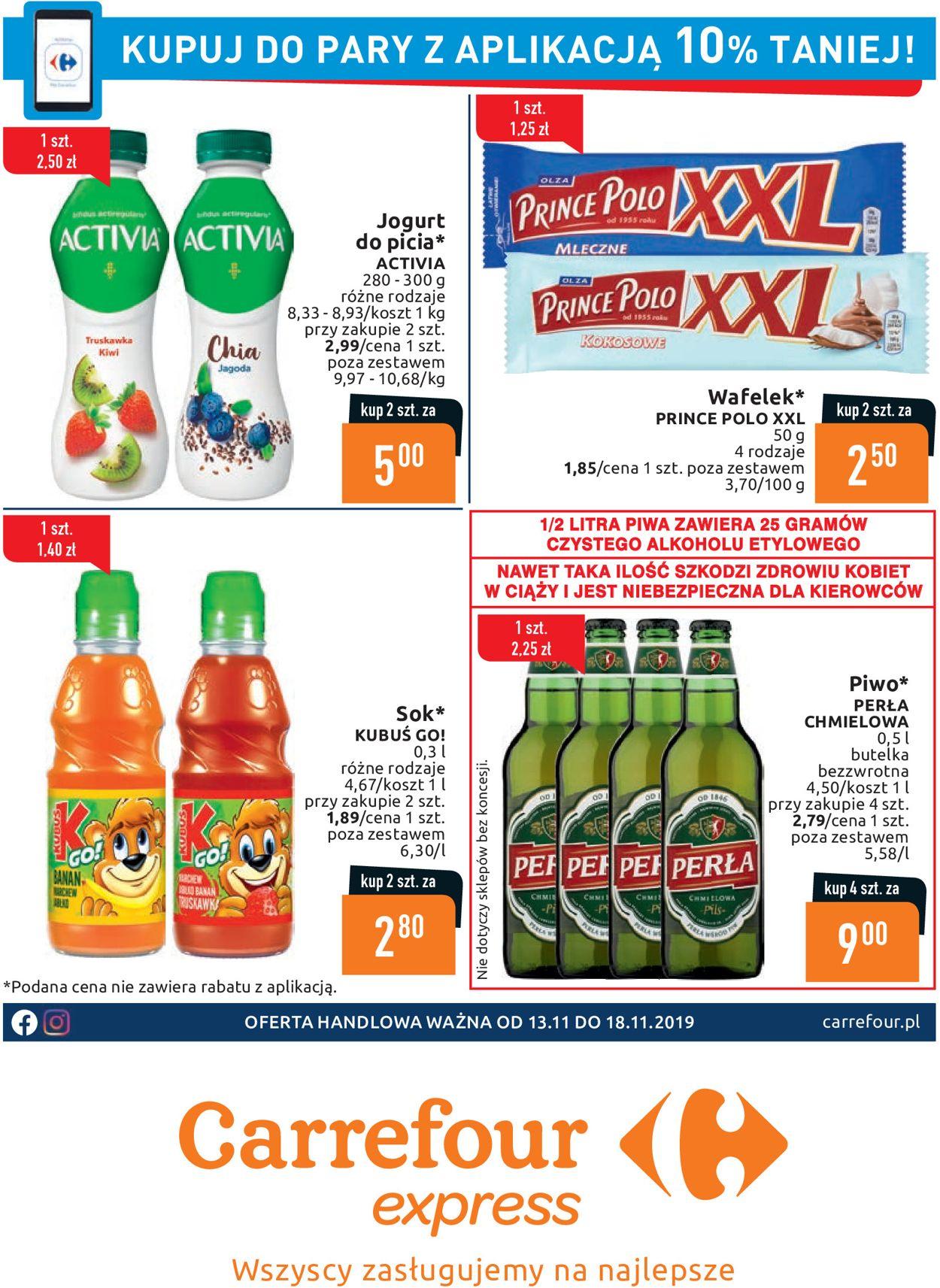 Gazetka promocyjna Carrefour - 13.11-18.11.2019