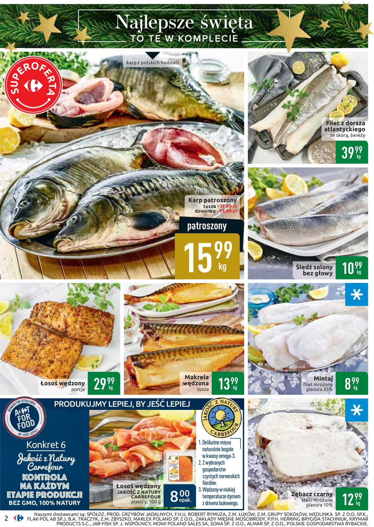 Gazetka promocyjna Carrefour - Gazetka Świąteczna 2019 - 26.11-07.12.2019 (Strona 2)