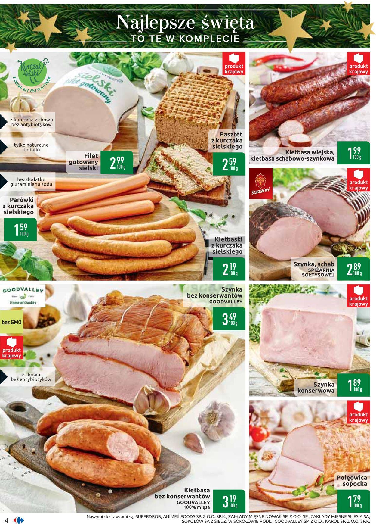 Gazetka promocyjna Carrefour - Gazetka Świąteczna 2019 - 26.11-07.12.2019 (Strona 4)