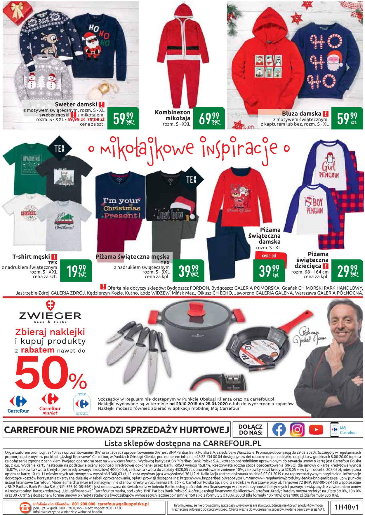 Gazetka promocyjna Carrefour - Gazetka Świąteczna 2019 - 26.11-07.12.2019 (Strona 36)
