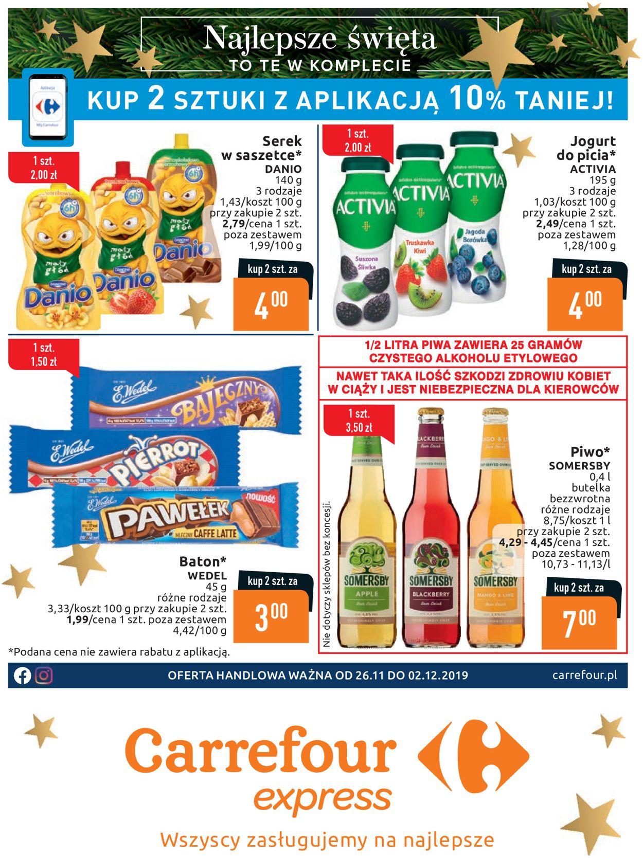 Gazetka promocyjna Carrefour - 26.11-02.12.2019