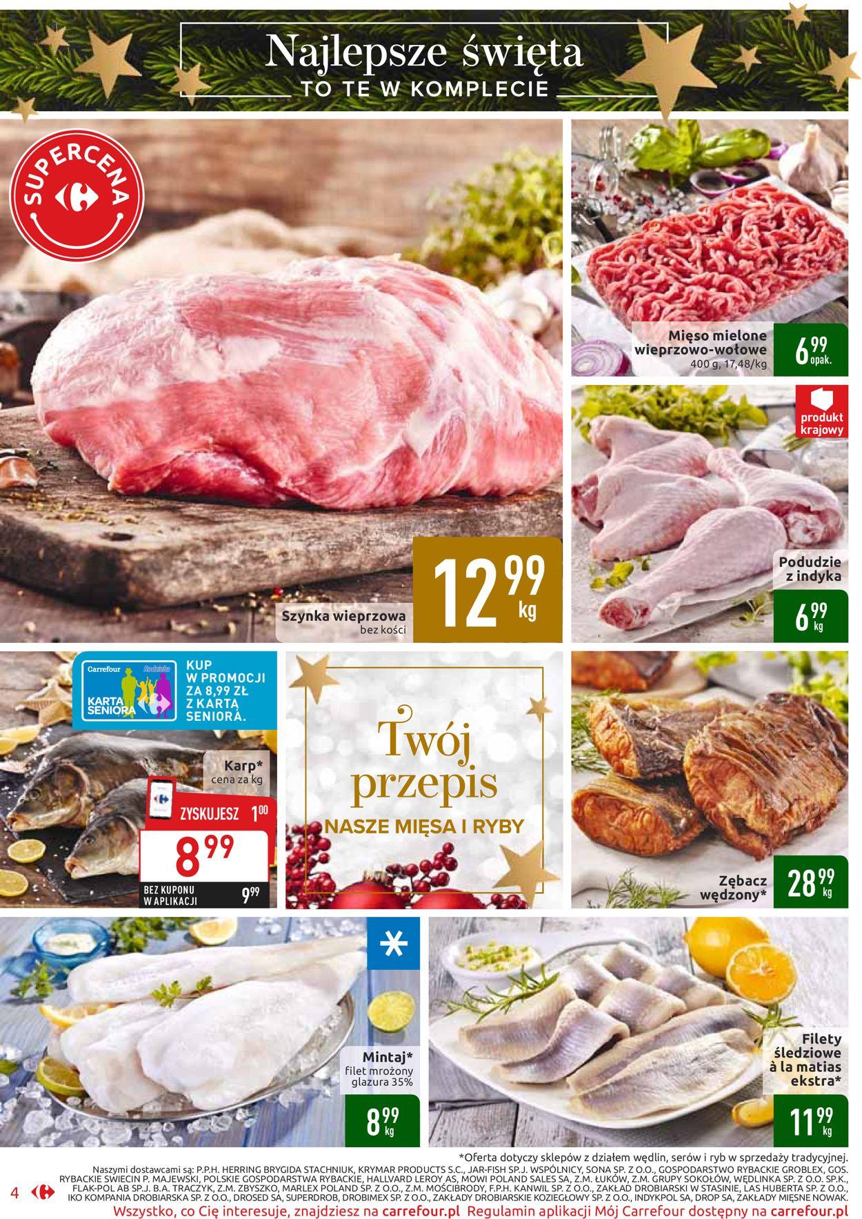 Gazetka promocyjna Carrefour - Gazetka Świąteczna 2019 - 17.12-24.12.2019 (Strona 4)