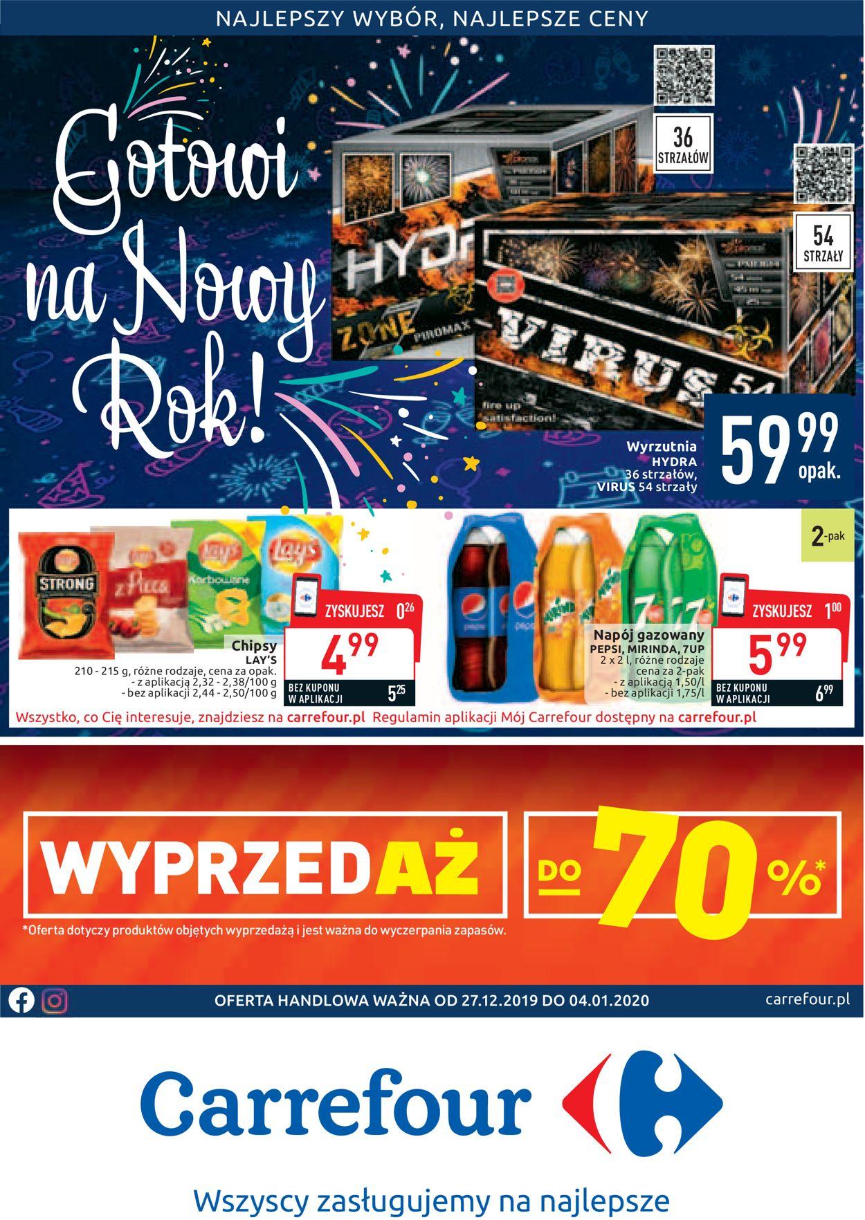 Gazetka promocyjna Carrefour - 27.12-04.01.2020