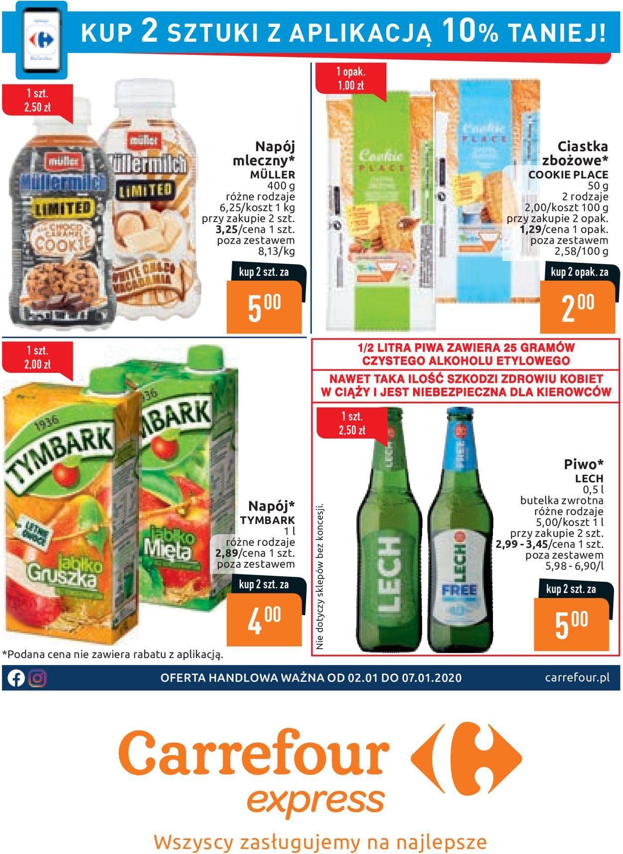 Gazetka promocyjna Carrefour - 02.01-07.01.2020