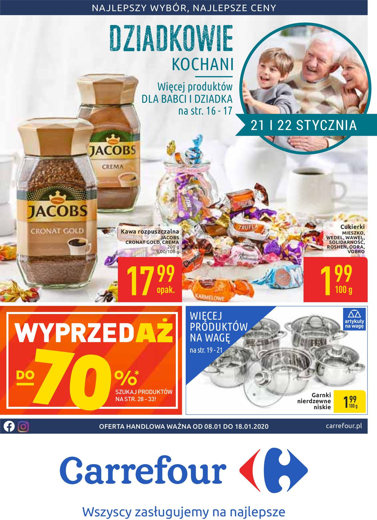 Gazetka promocyjna Carrefour - 08.01-18.01.2020