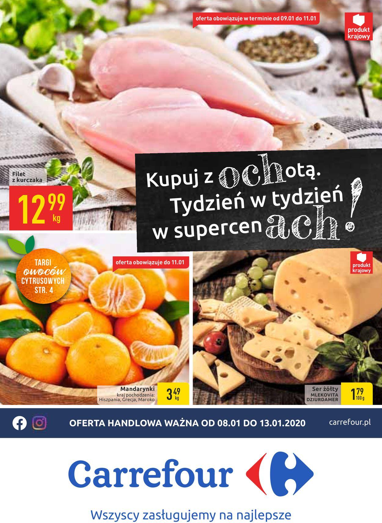 Gazetka promocyjna Carrefour - 09.01-13.01.2020