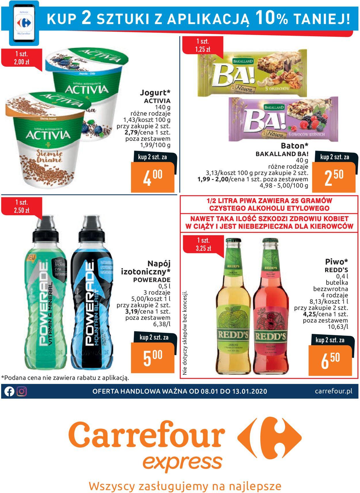Gazetka promocyjna Carrefour - 08.01-13.01.2020