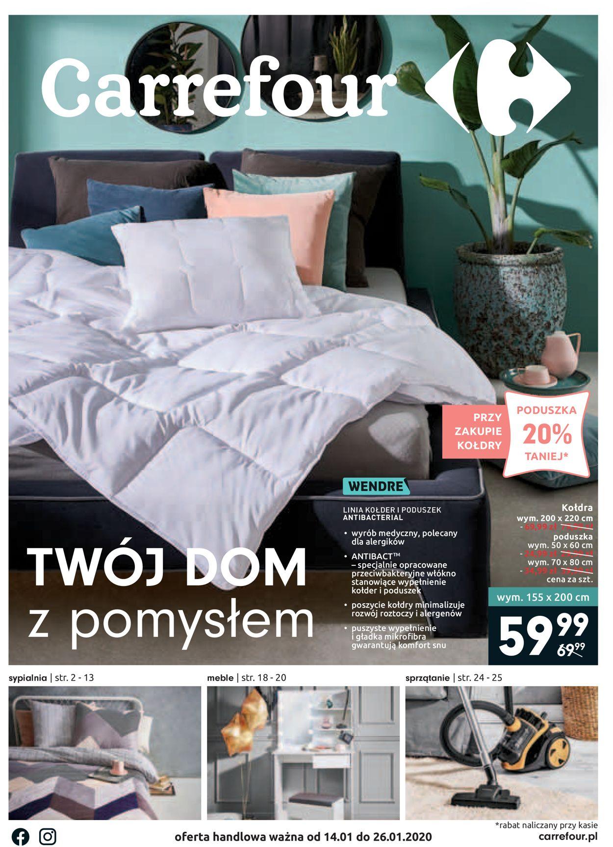 Gazetka promocyjna Carrefour - 14.01-26.01.2020