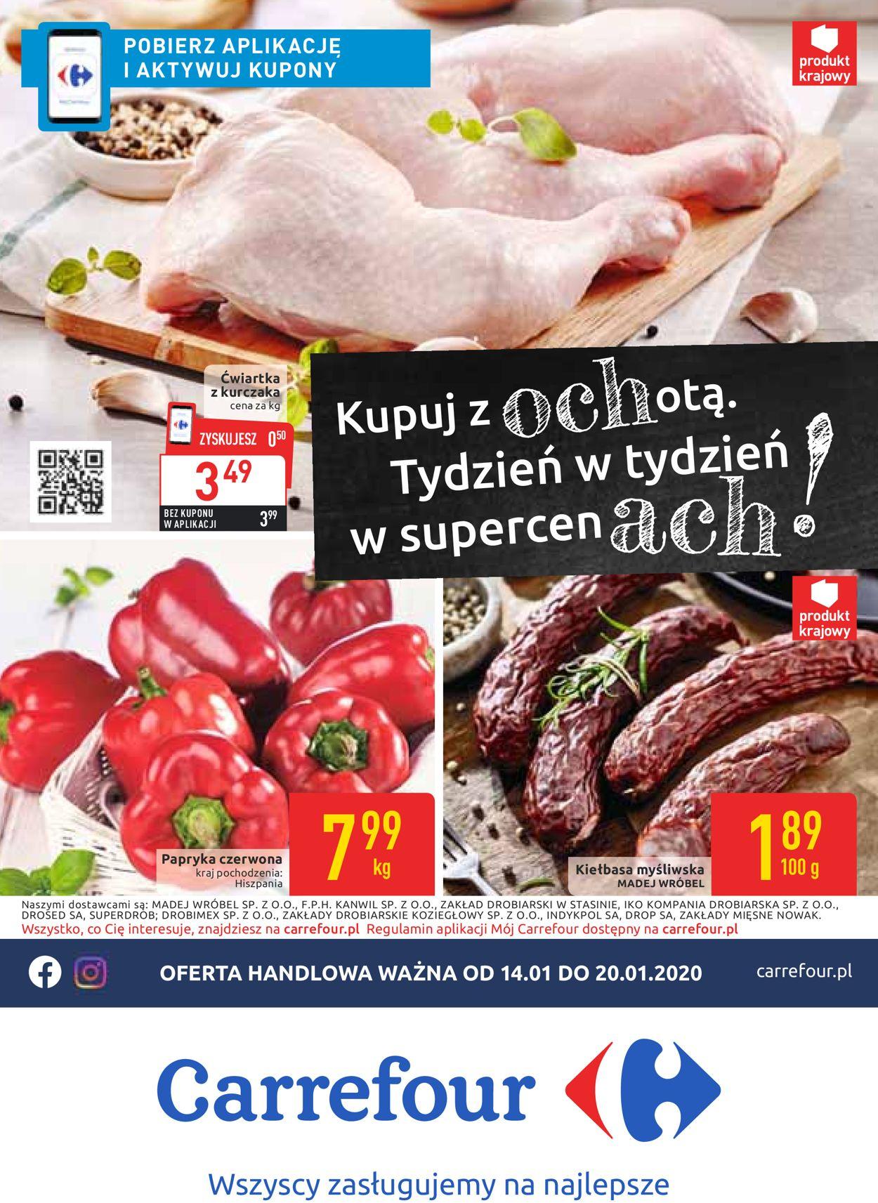 Gazetka promocyjna Carrefour - 14.01-20.01.2020