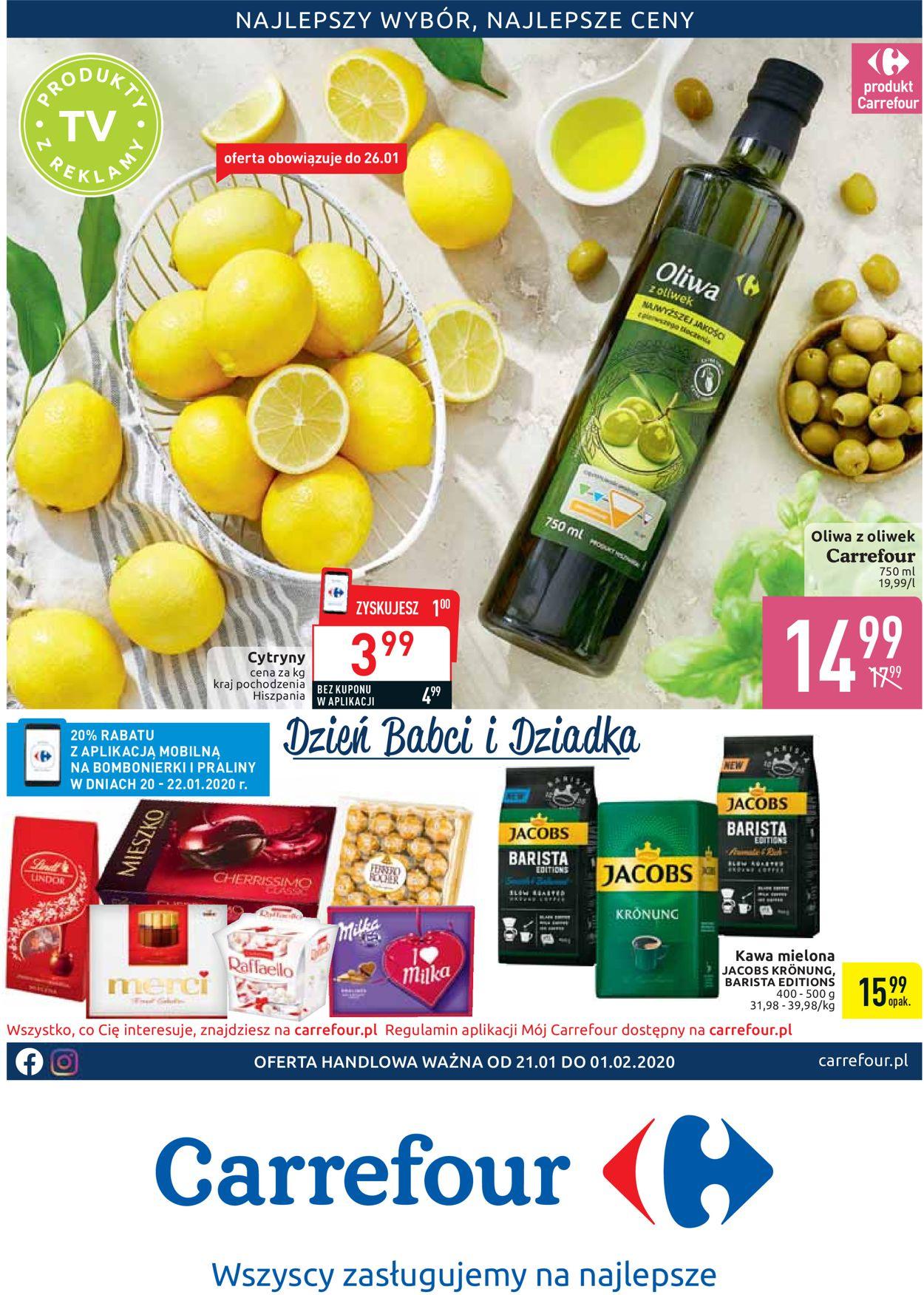 Gazetka promocyjna Carrefour - 21.01-01.02.2020