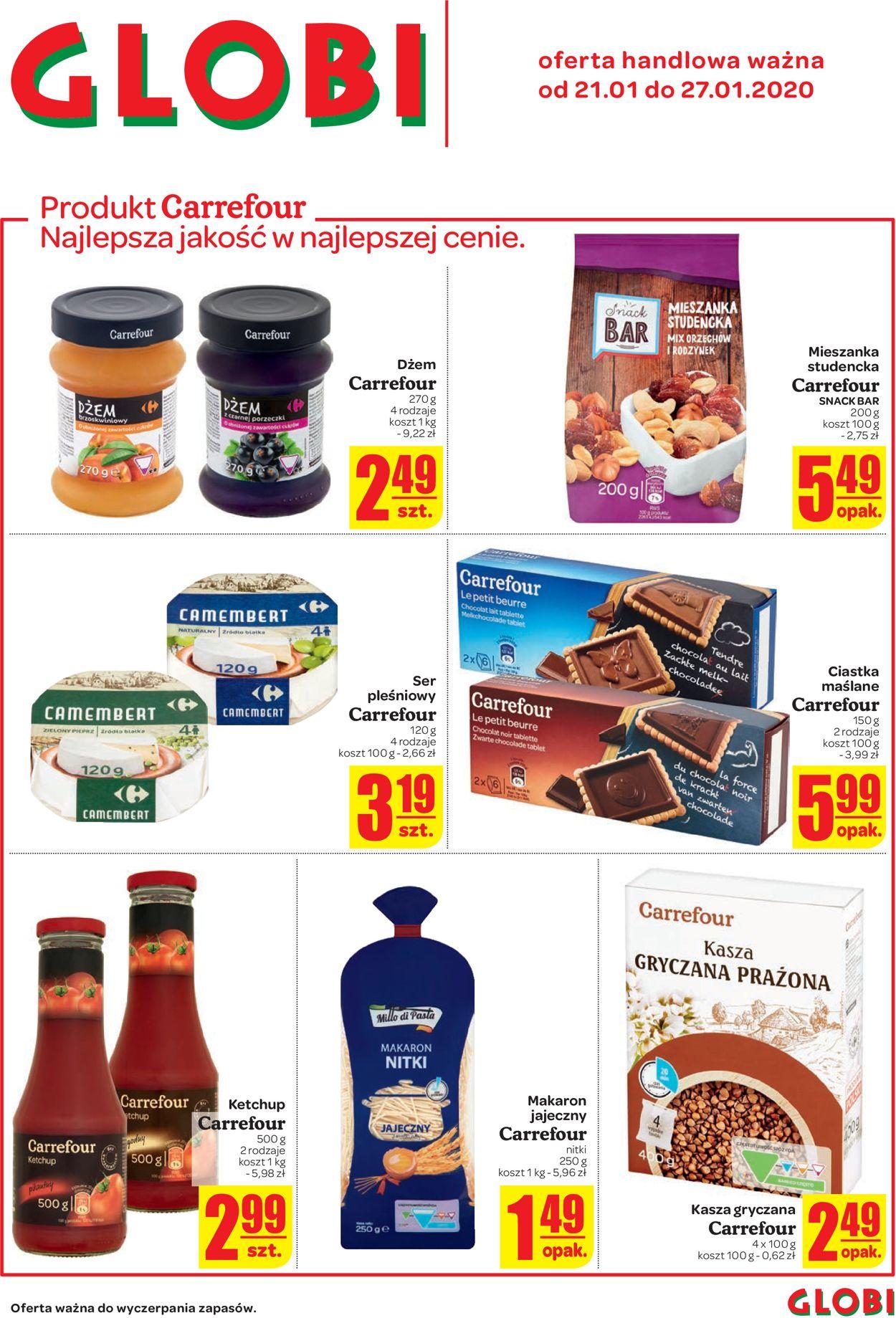 Gazetka promocyjna Carrefour - 21.01-27.01.2020