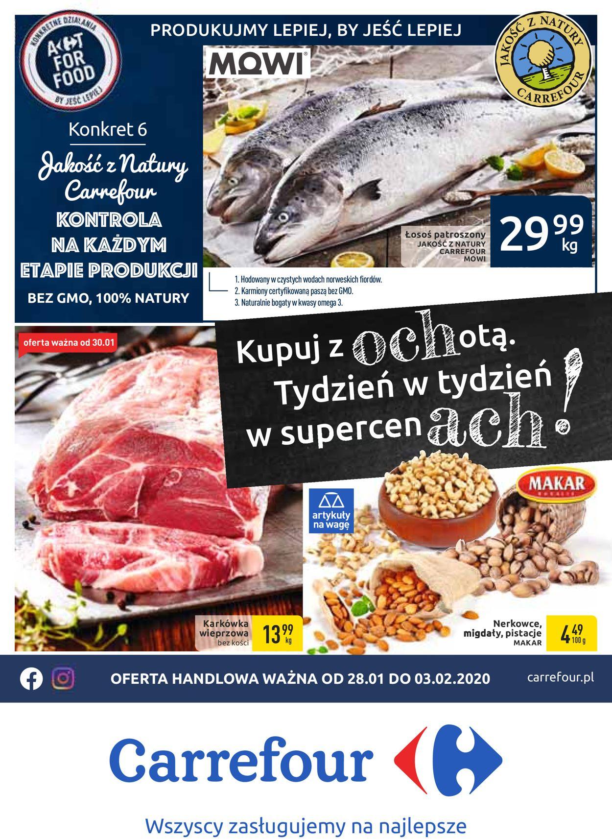 Gazetka promocyjna Carrefour - 28.01-03.02.2020