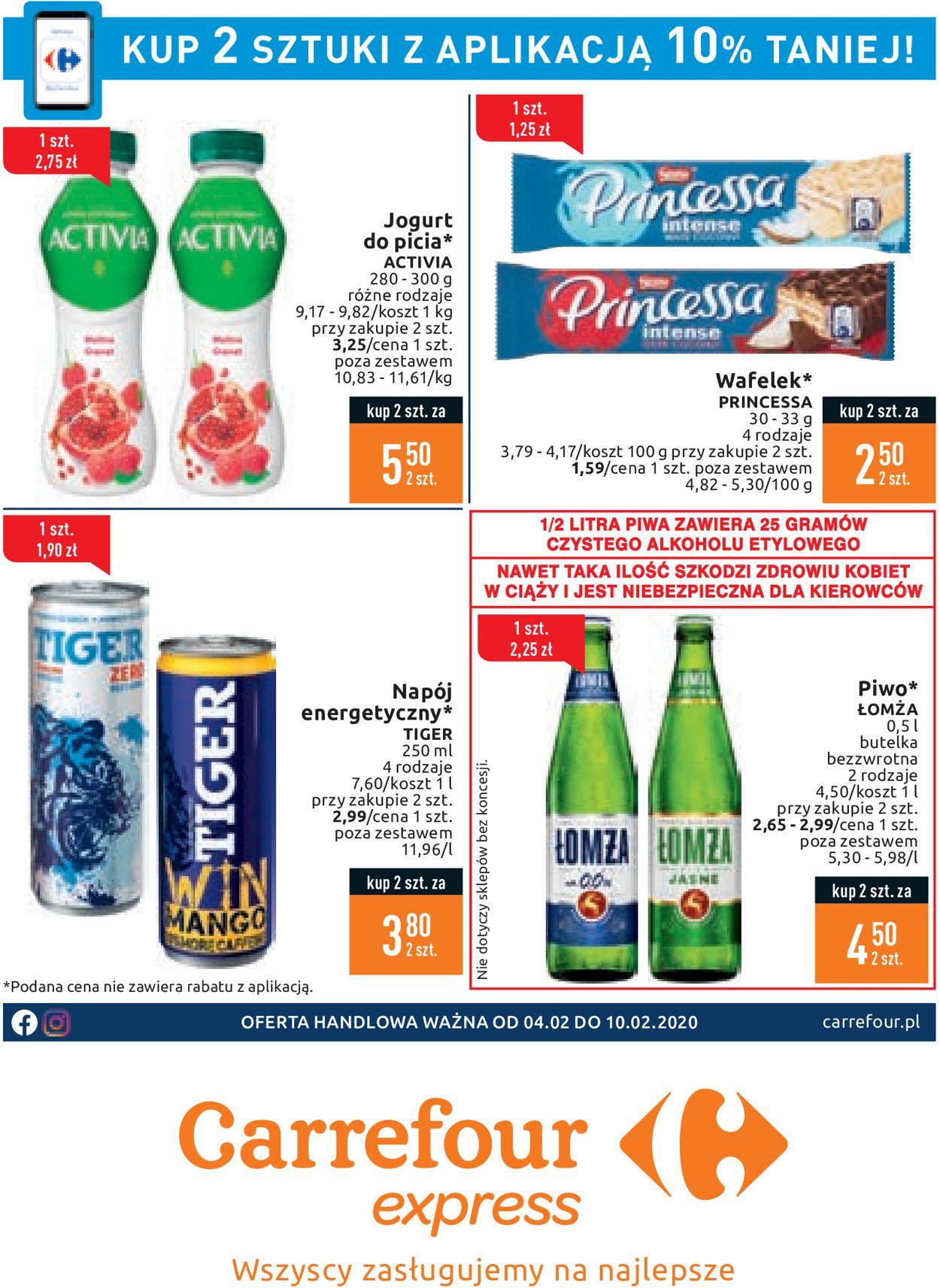 Gazetka promocyjna Carrefour - 04.02-10.02.2020