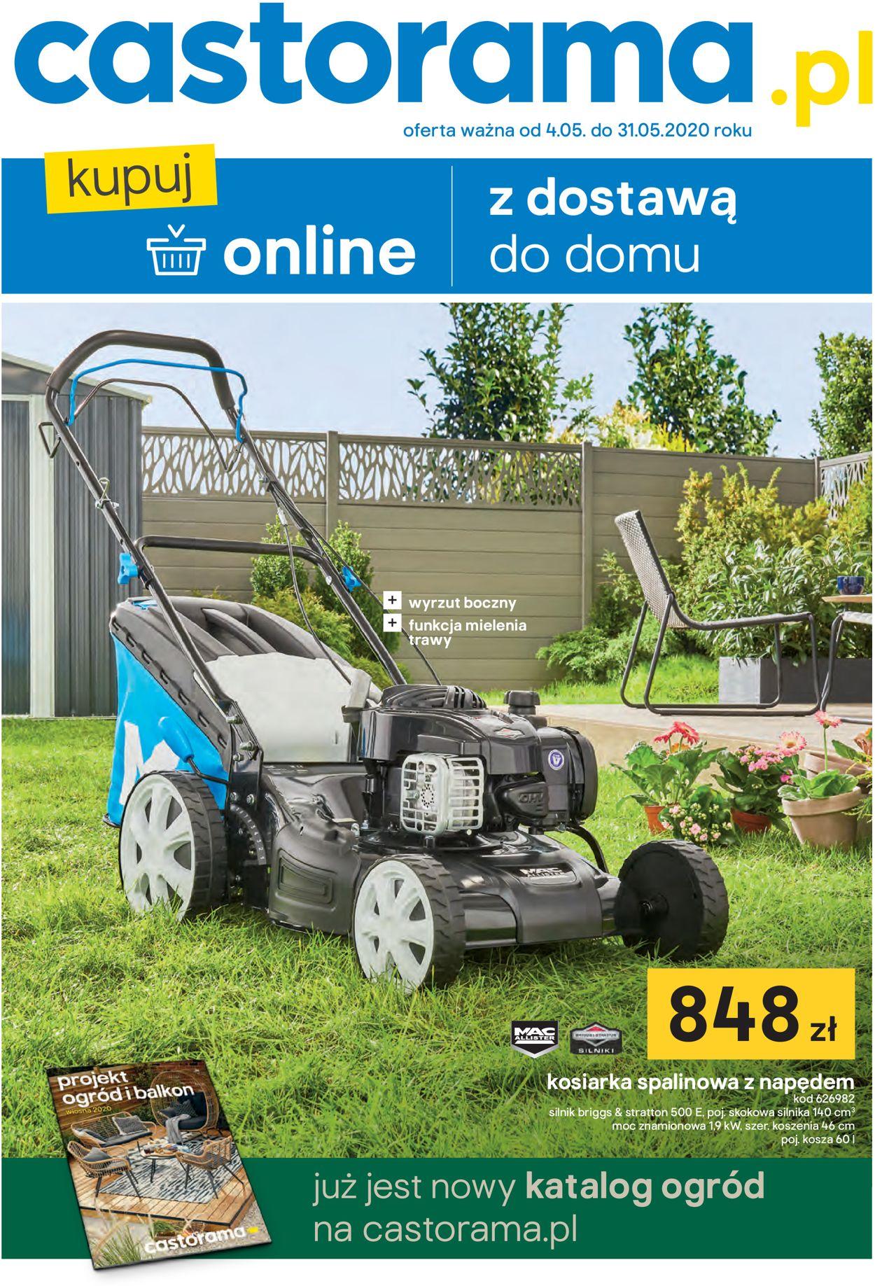 Gazetka promocyjna Castorama - 04.05-31.05.2020
