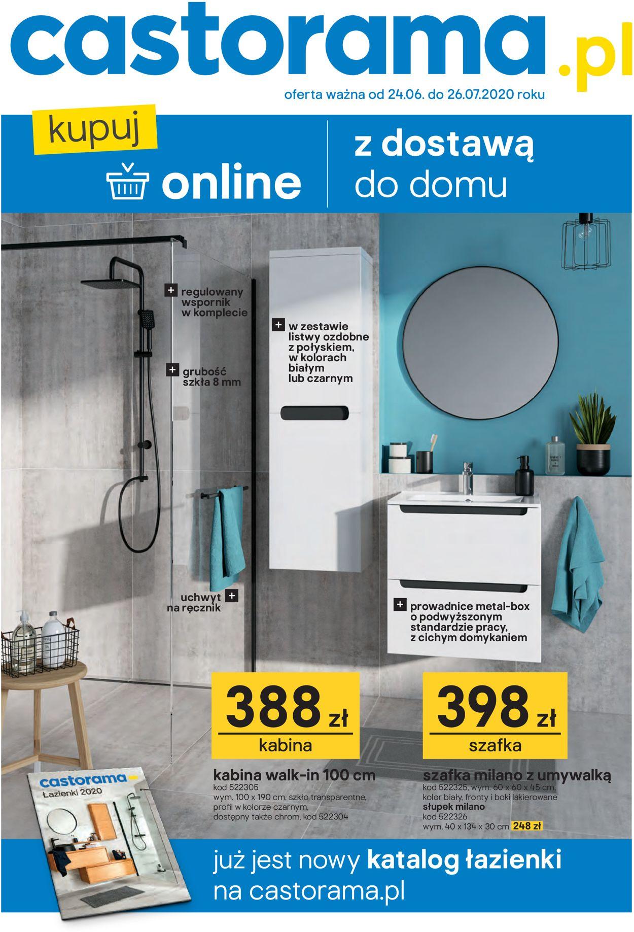 Gazetka promocyjna Castorama - 24.06-26.07.2020