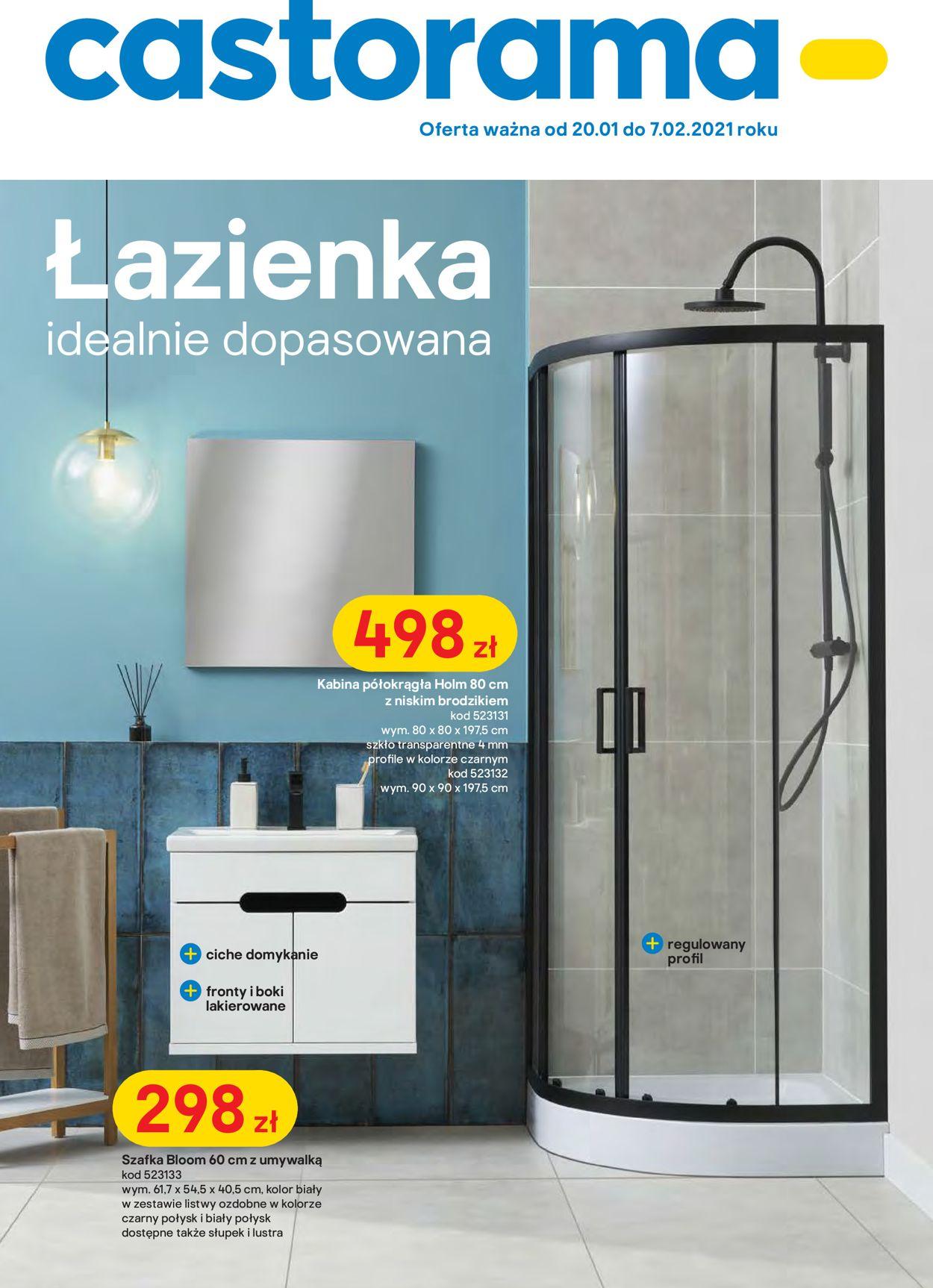 Gazetka promocyjna Castorama - 20.01-07.02.2021