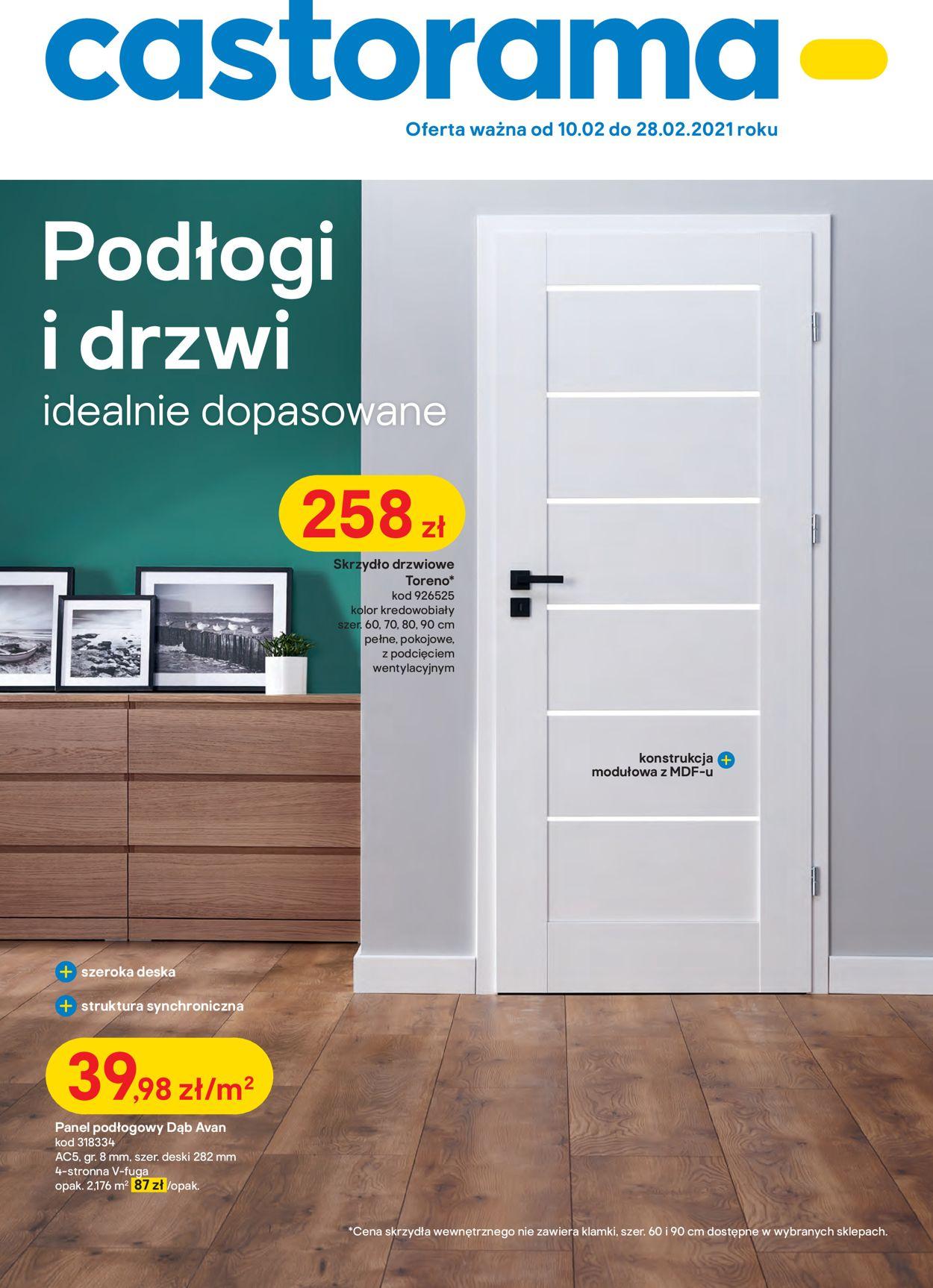 Gazetka promocyjna Castorama - 10.02-28.02.2021