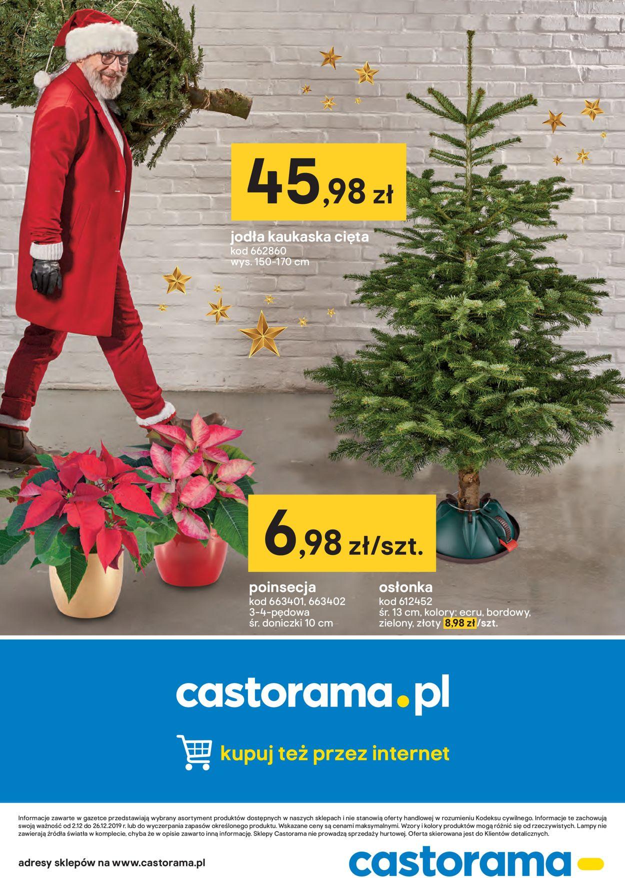 Gazetka promocyjna Castorama - 02.12-26.12.2019 (Strona 16)
