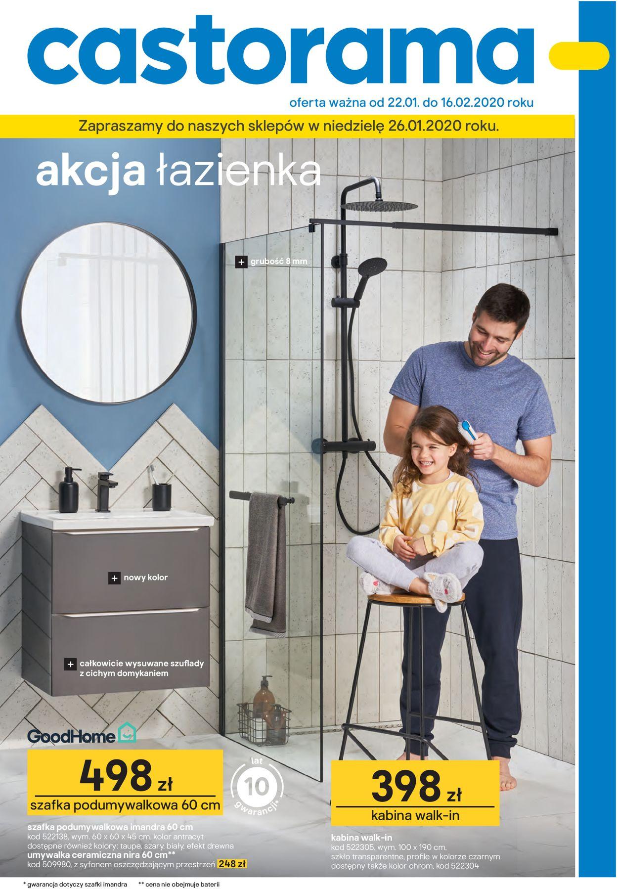 Gazetka promocyjna Castorama - 22.01-16.02.2020