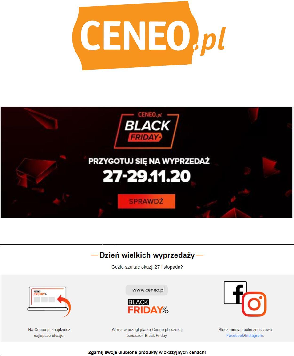 Gazetka promocyjna Ceneo Black Friday 2020 - 26.11-02.12.2020