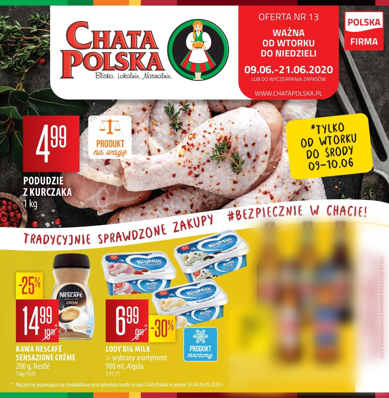 Gazetka promocyjna Chata Polska - 09.06-21.06.2020