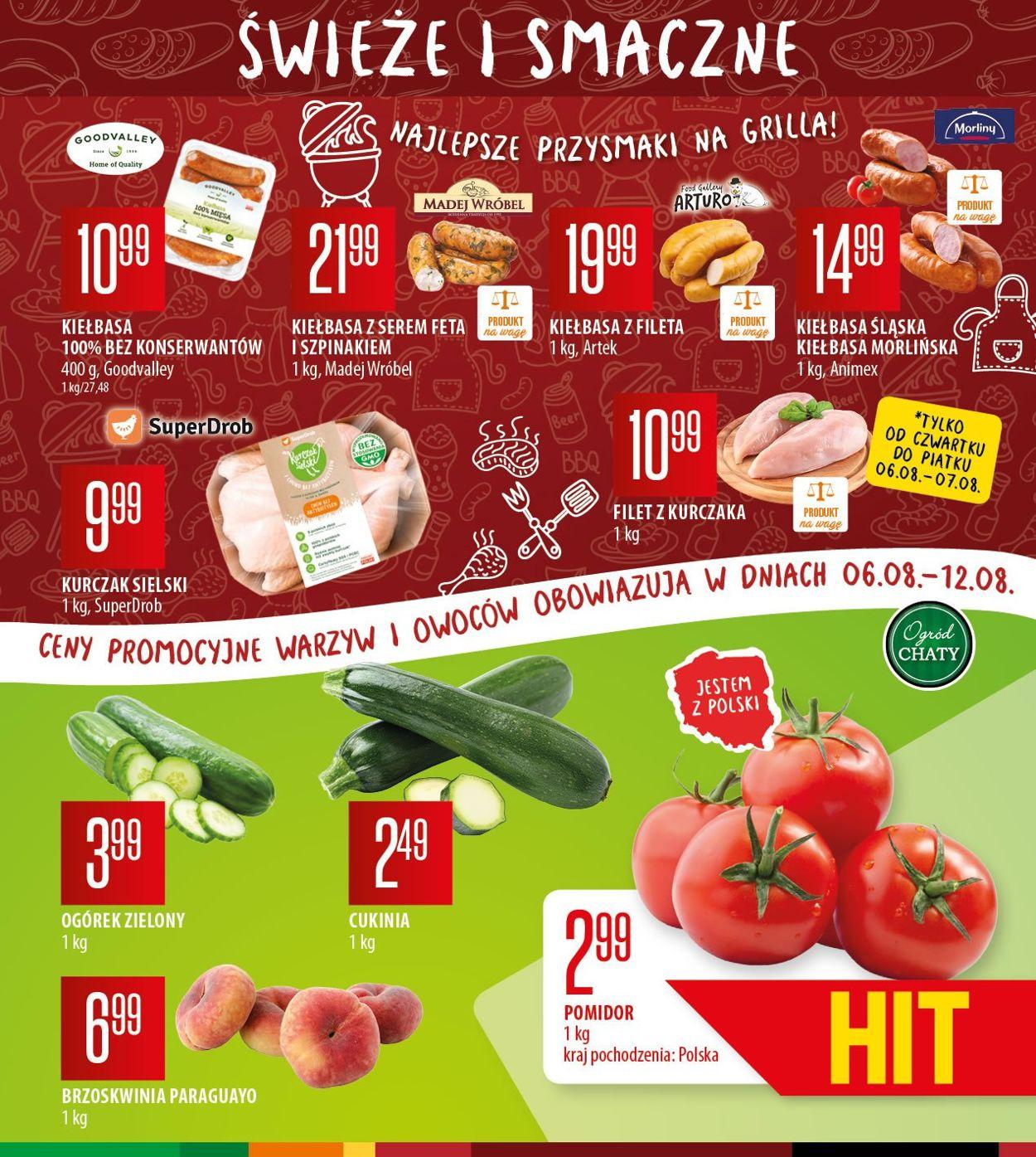 Gazetka promocyjna Chata Polska - 06.08-16.08.2020 (Strona 3)
