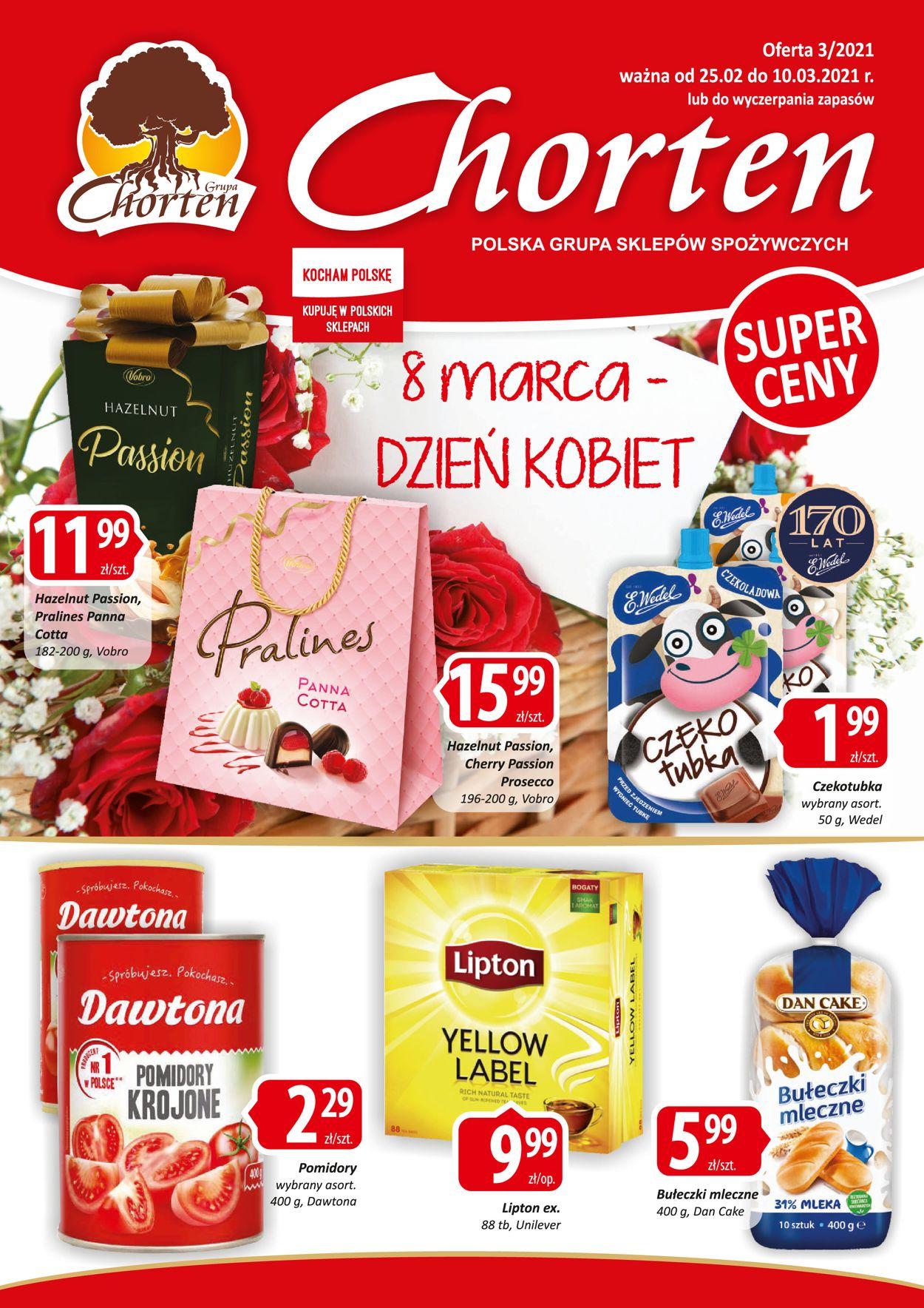 Gazetka promocyjna Chorten - 25.02-10.03.2021