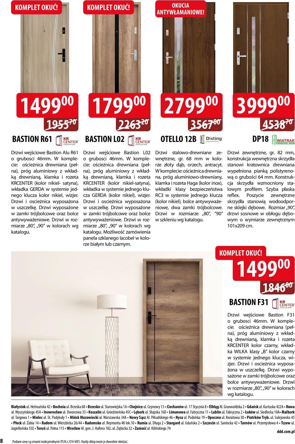 Gazetka promocyjna DDD - 01.09-31.10.2020 (Strona 8)