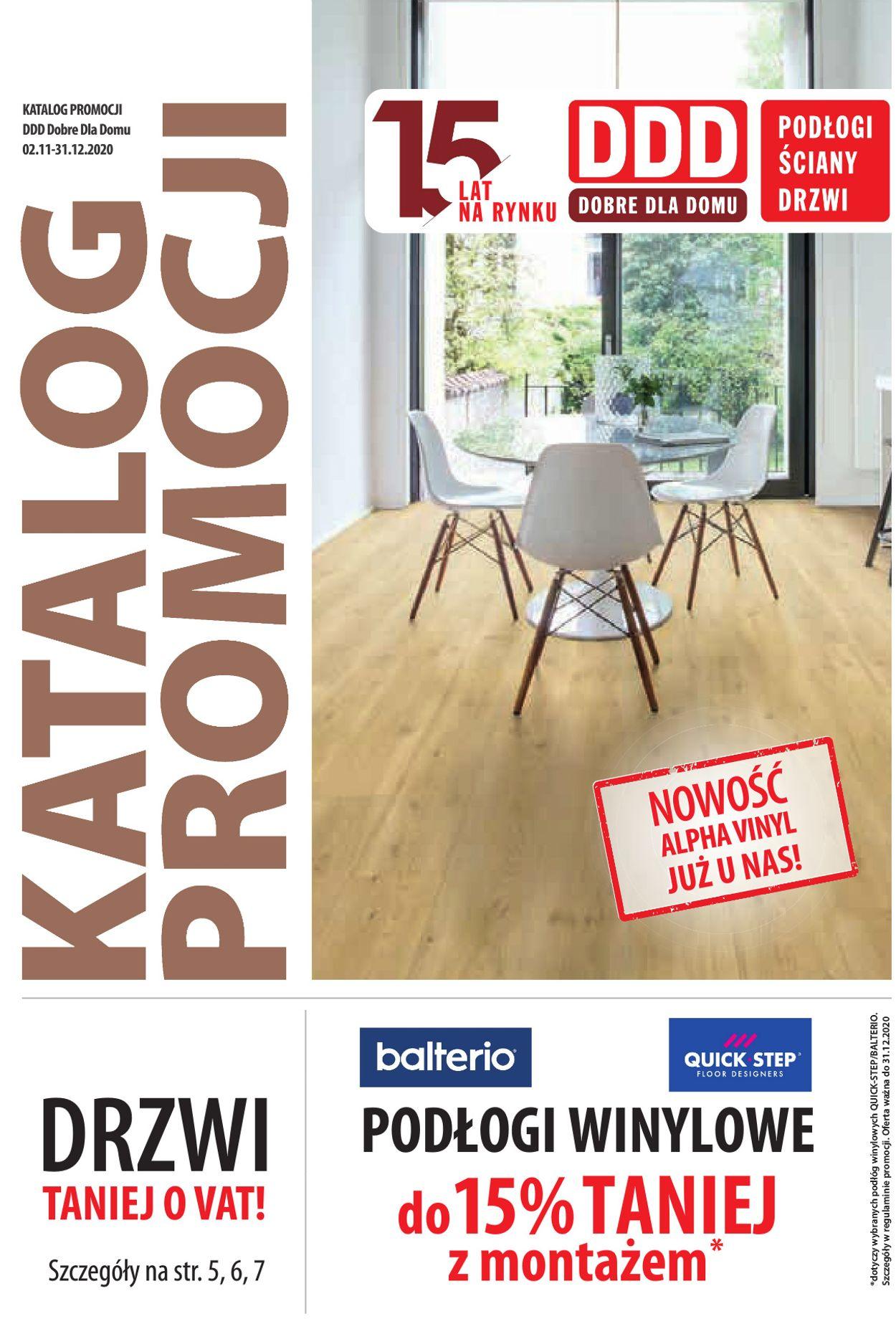 Gazetka promocyjna DDD - 02.11-31.12.2020