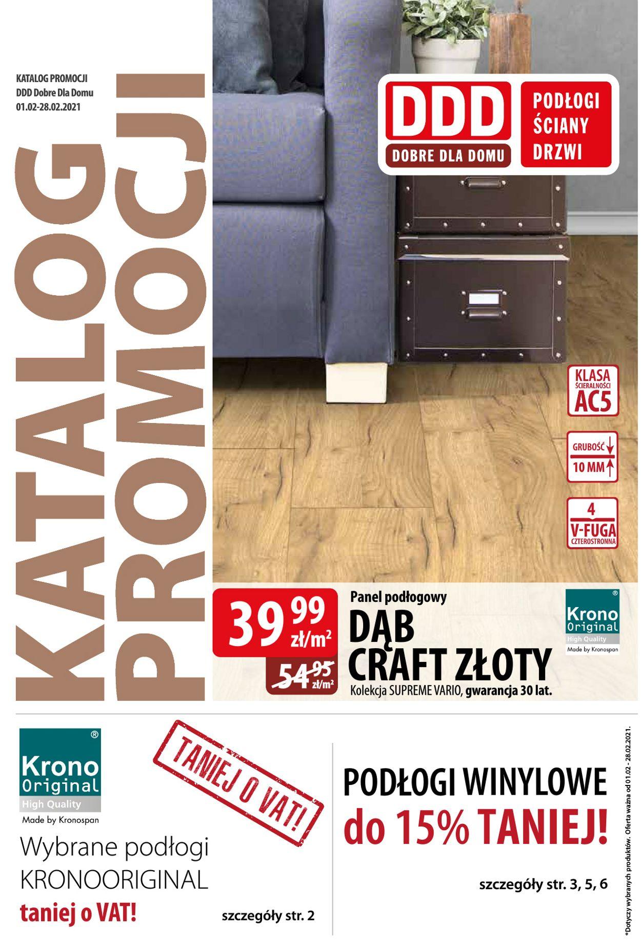 Gazetka promocyjna DDD - 01.02-28.02.2021