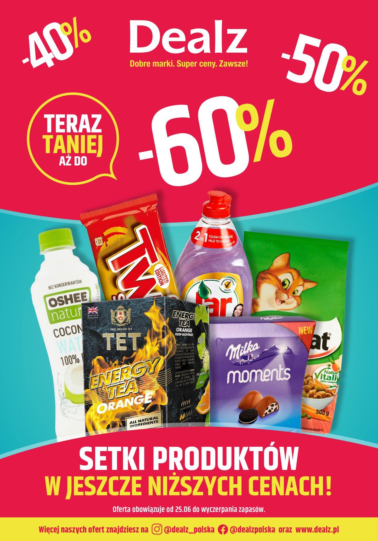 Gazetka promocyjna Dealz - 25.06-09.07.2020