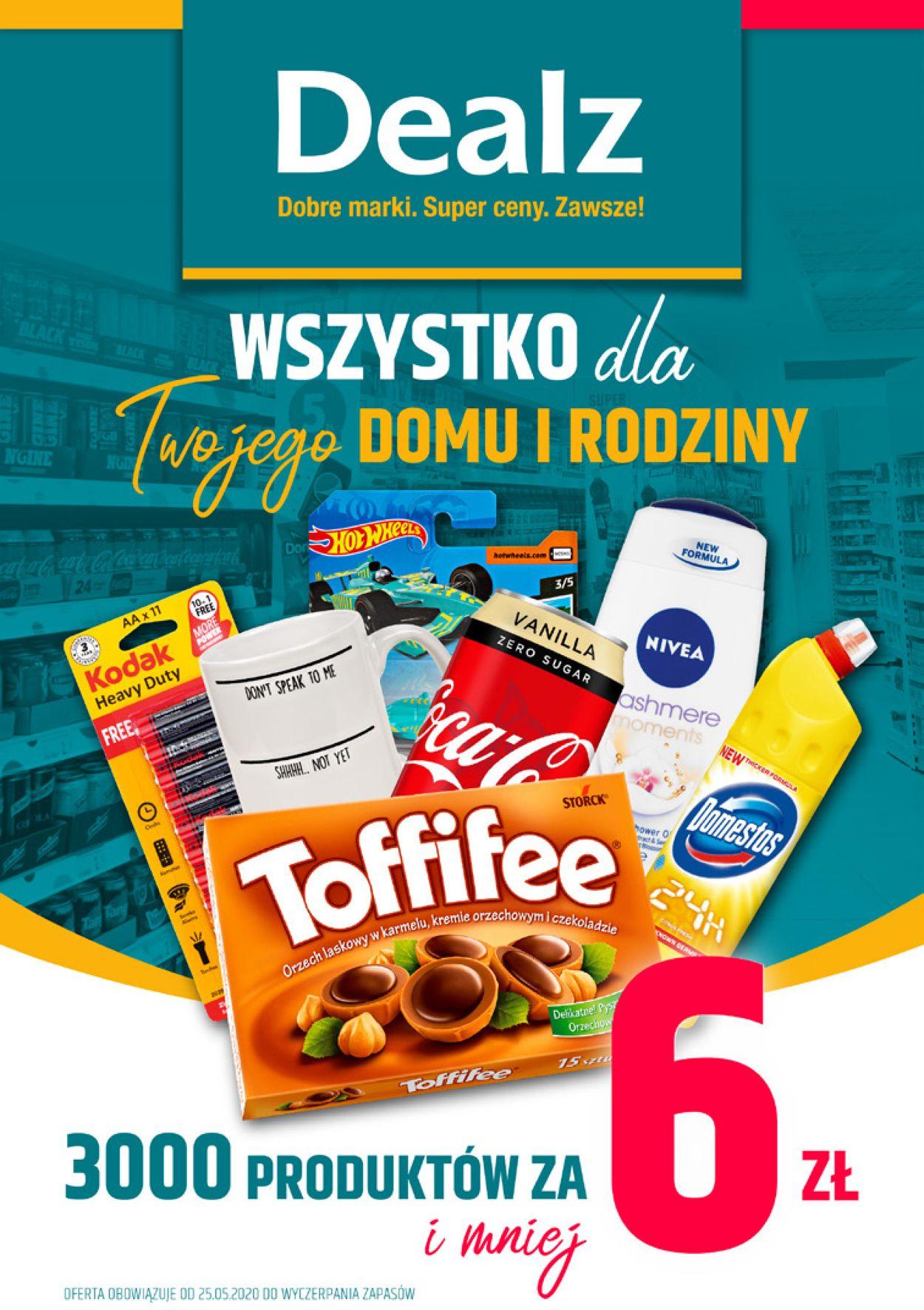 Gazetka promocyjna Dealz - 25.05-09.07.2020