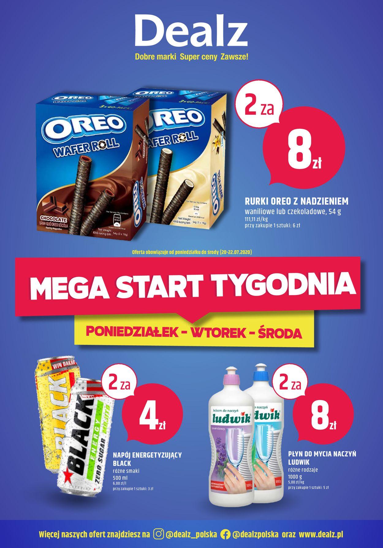 Gazetka promocyjna Dealz - 20.07-22.07.2020