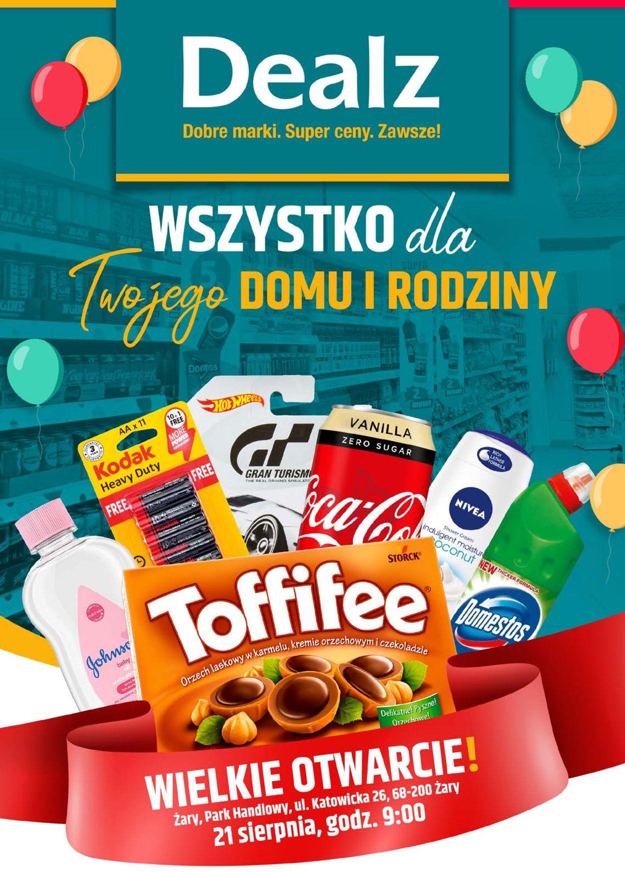 Gazetka promocyjna Dealz - 21.08-04.09.2020