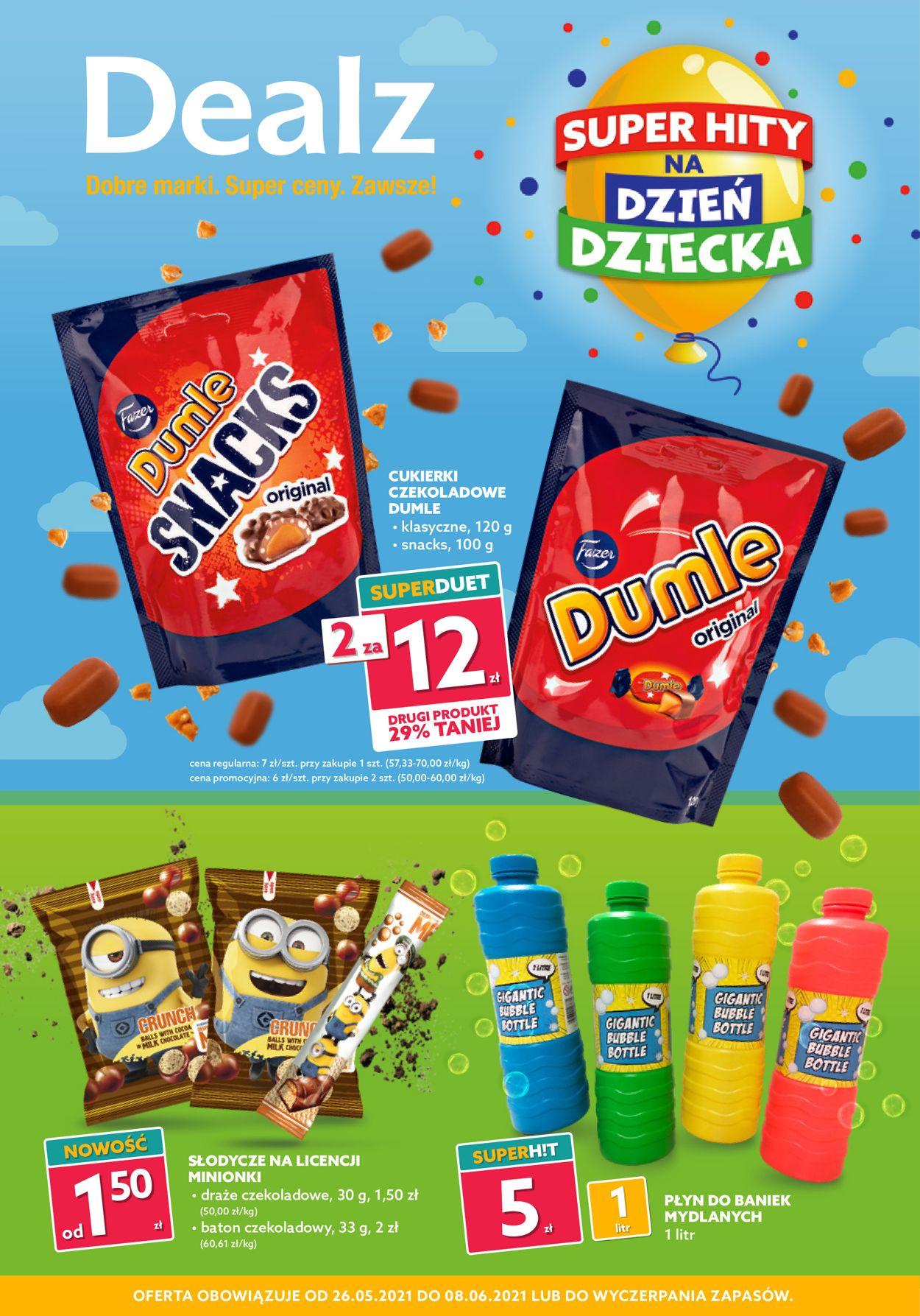 Gazetka promocyjna Dealz - 26.05-08.06.2021
